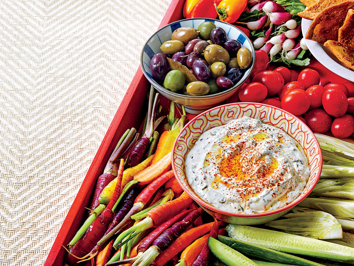 Creamy Feta-and-Herb Dip