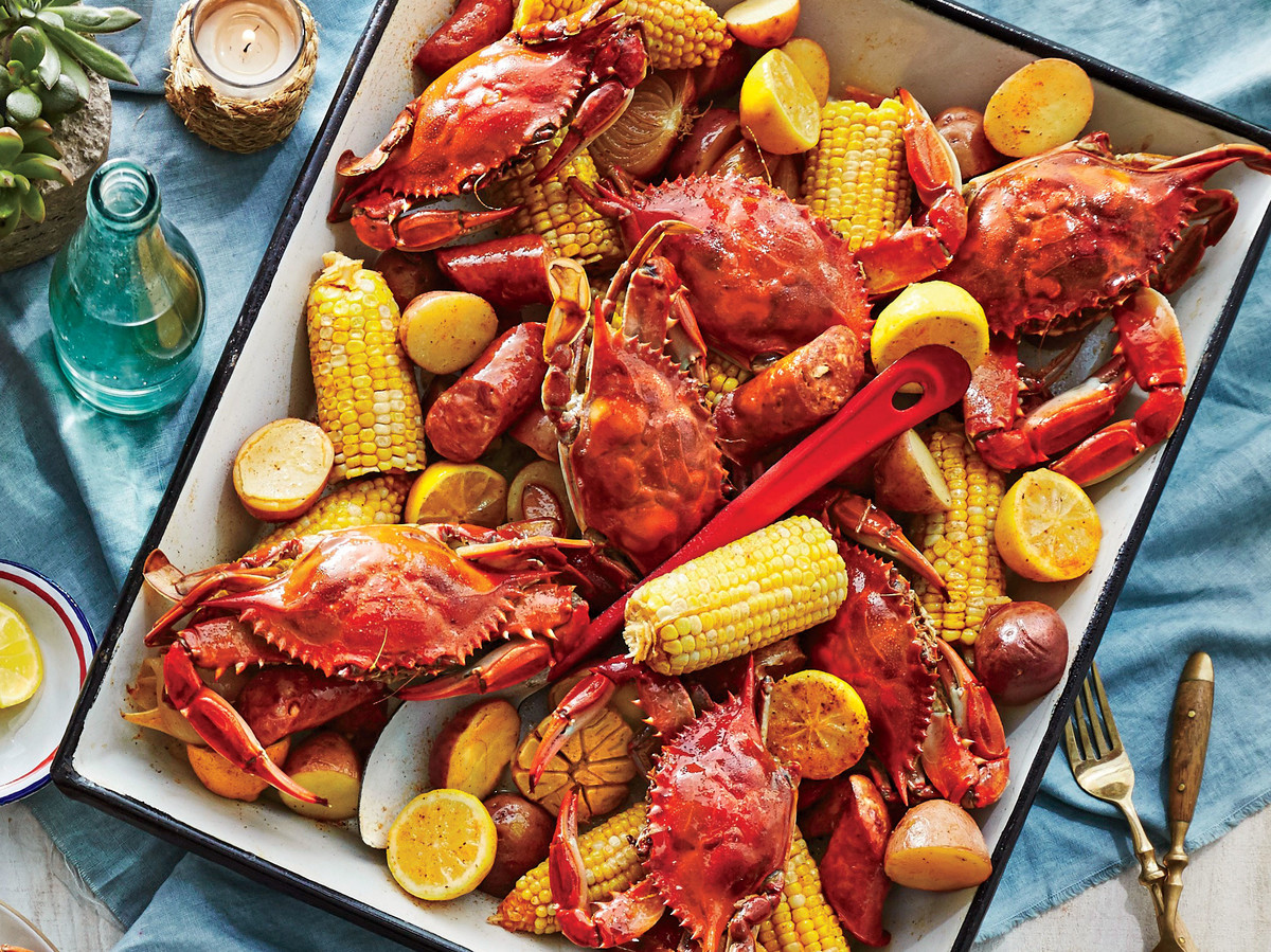 Food Recipe Old Bay Shrimp Boil