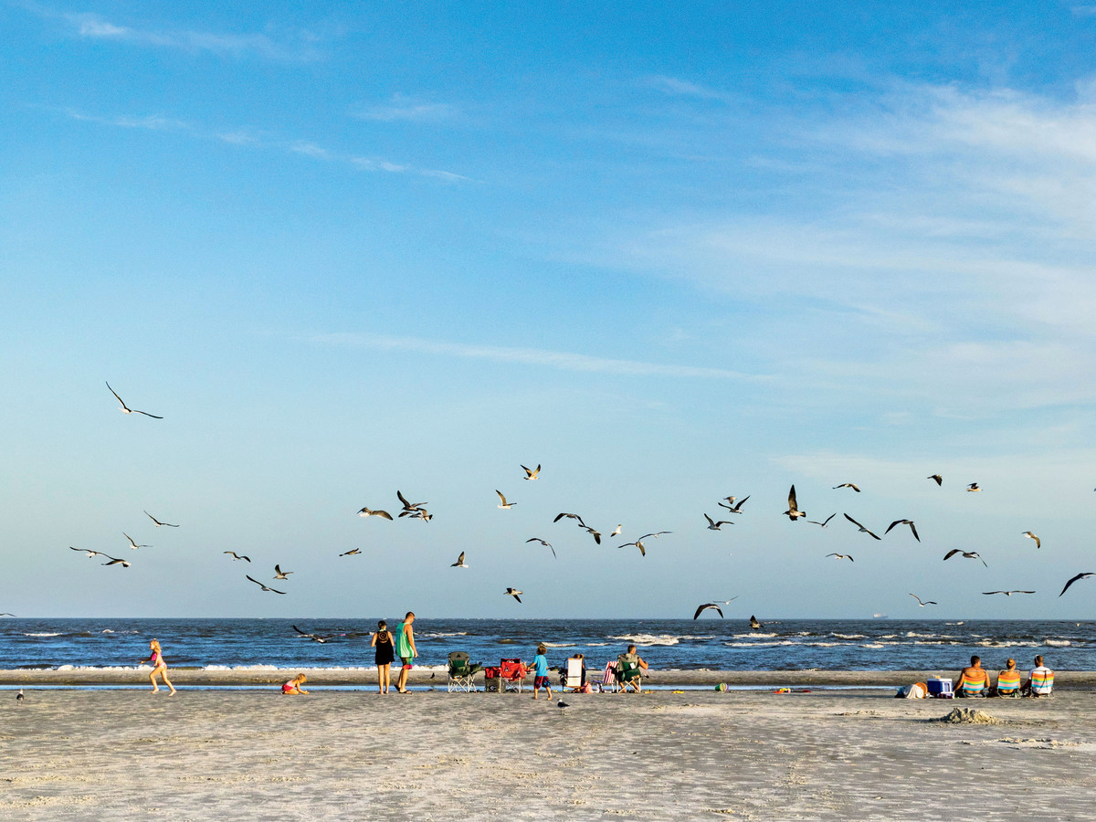 East Beach on St. Simons Island