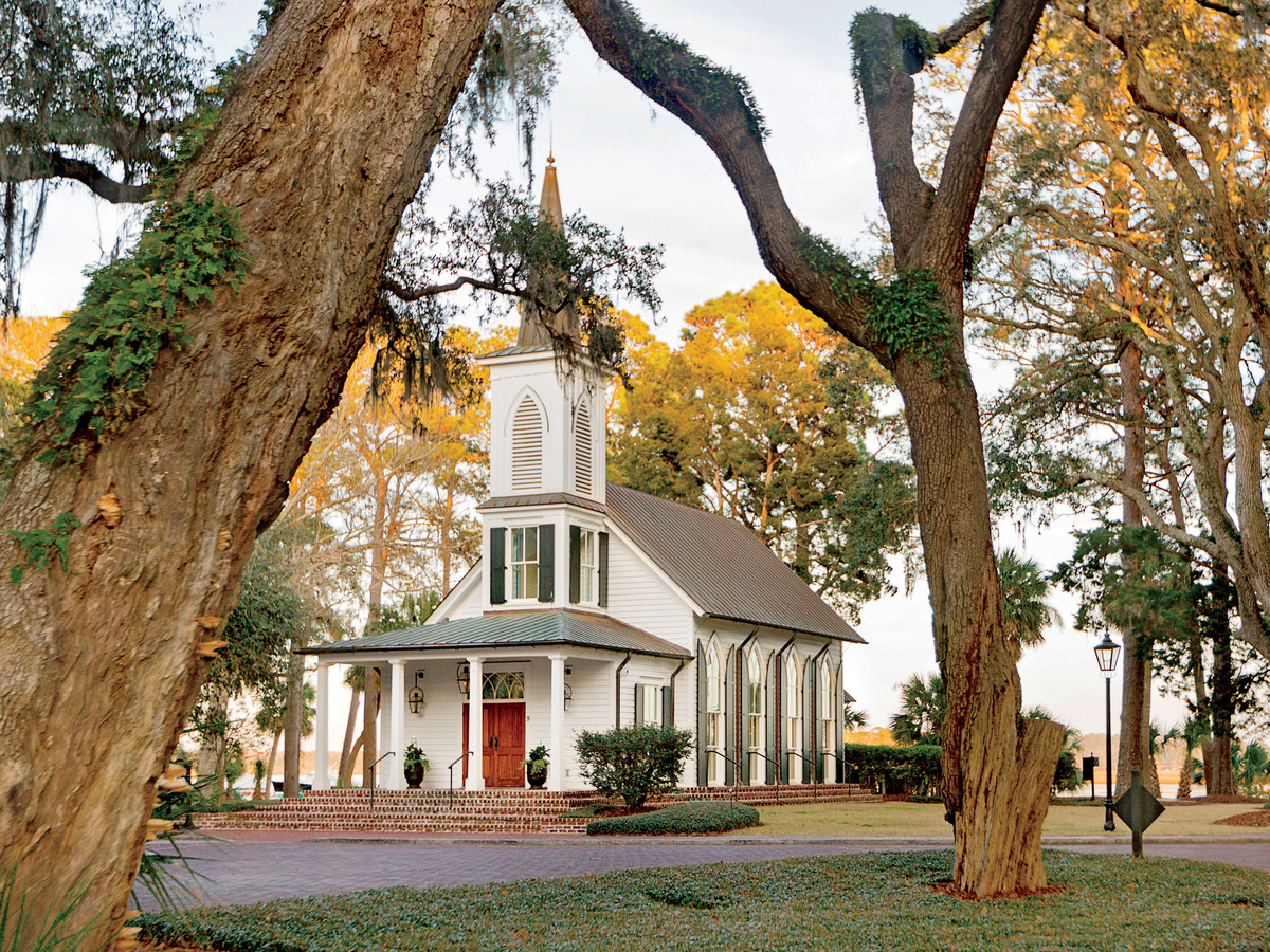May River Chapel at Montage Palmetto Bluff in Bluffton, South Carolina