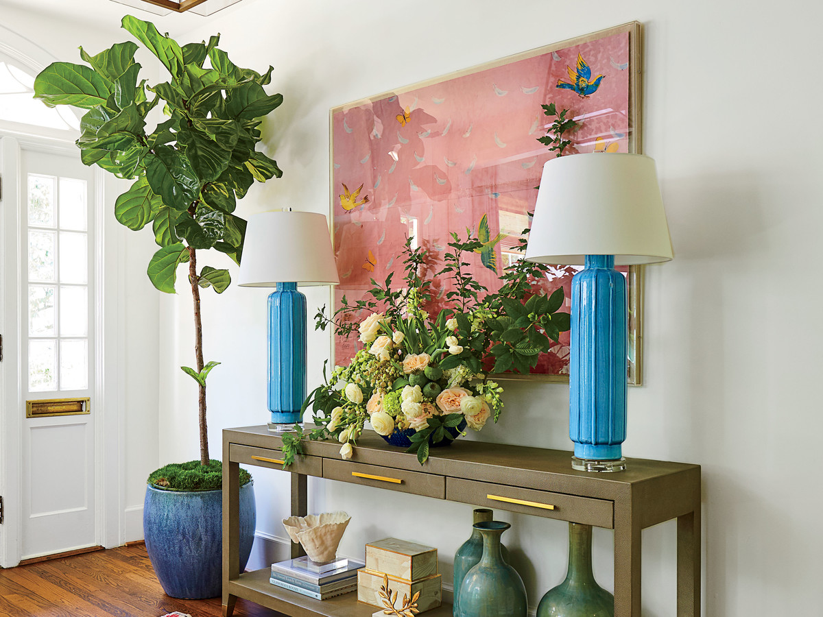 Lindsey Cheeku0027s Home With Fiddle Leaf Fig Tree