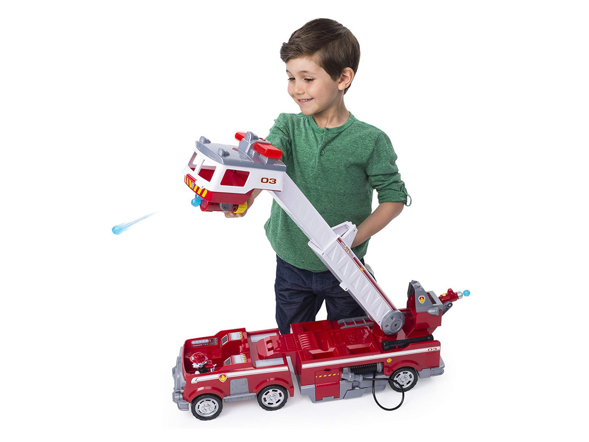 Paw Patrol Rescue Fire Truck with Extendable Ladder