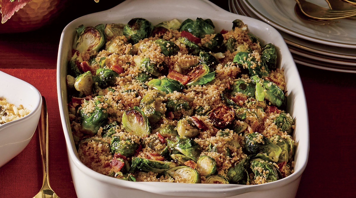 Brussel Sprouts with Bacon and Shallots Recipe - Southern Living