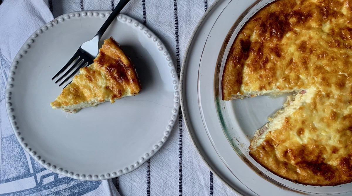Easiest Crustless Quiche
