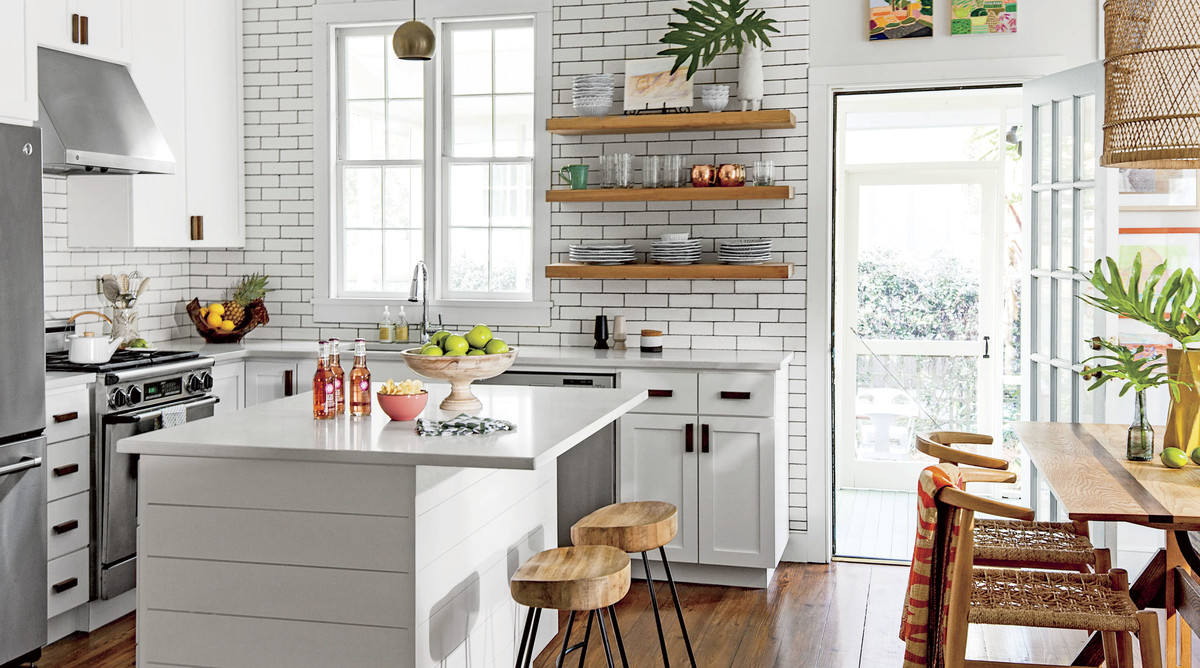 Lulie Wallace L-Shaped Kitchen