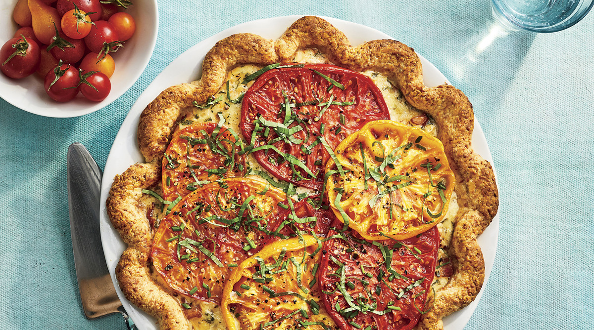Heirloom Tomato Pie Recipe