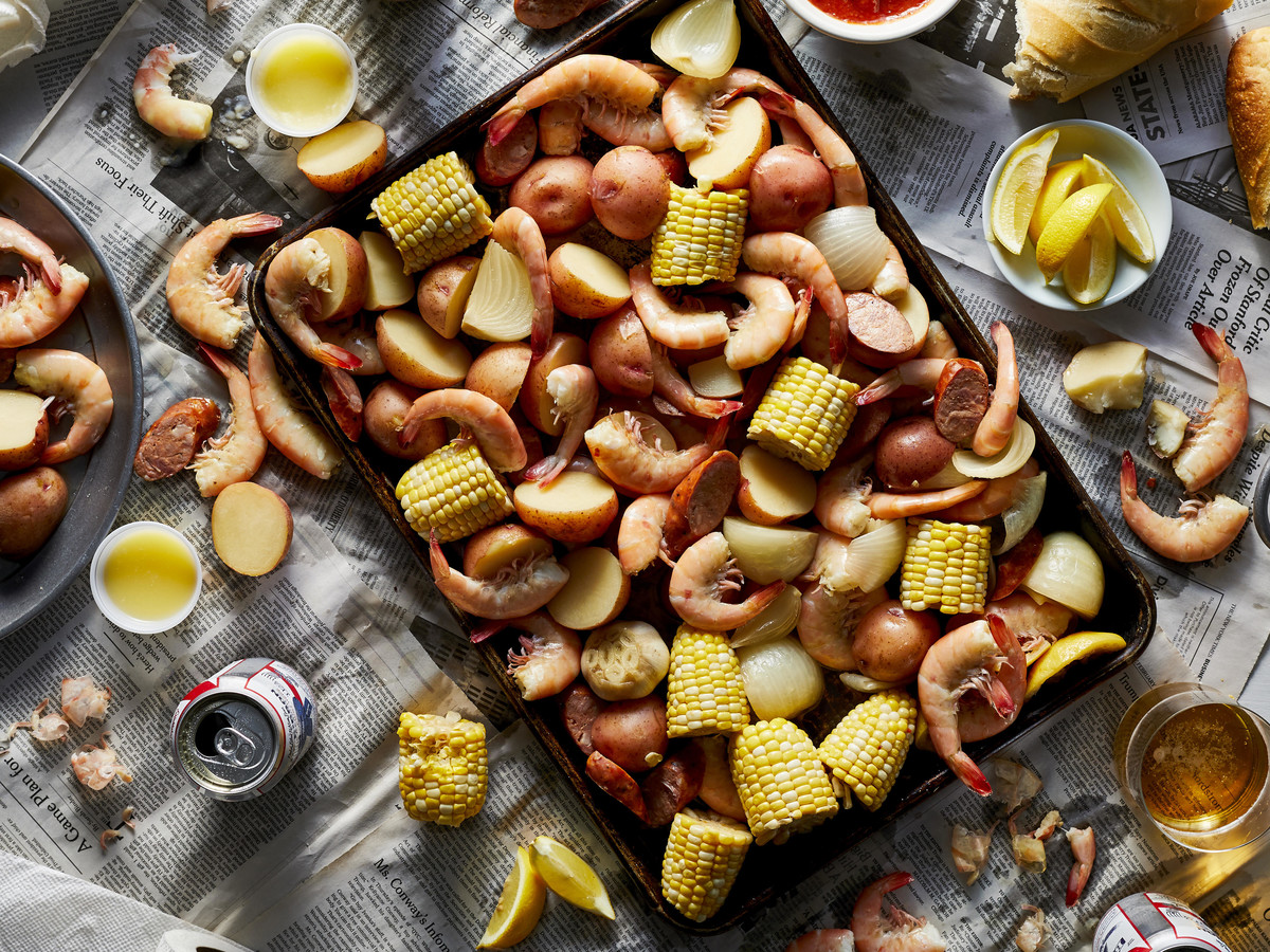 Slow Cooker Shrimp Boil image