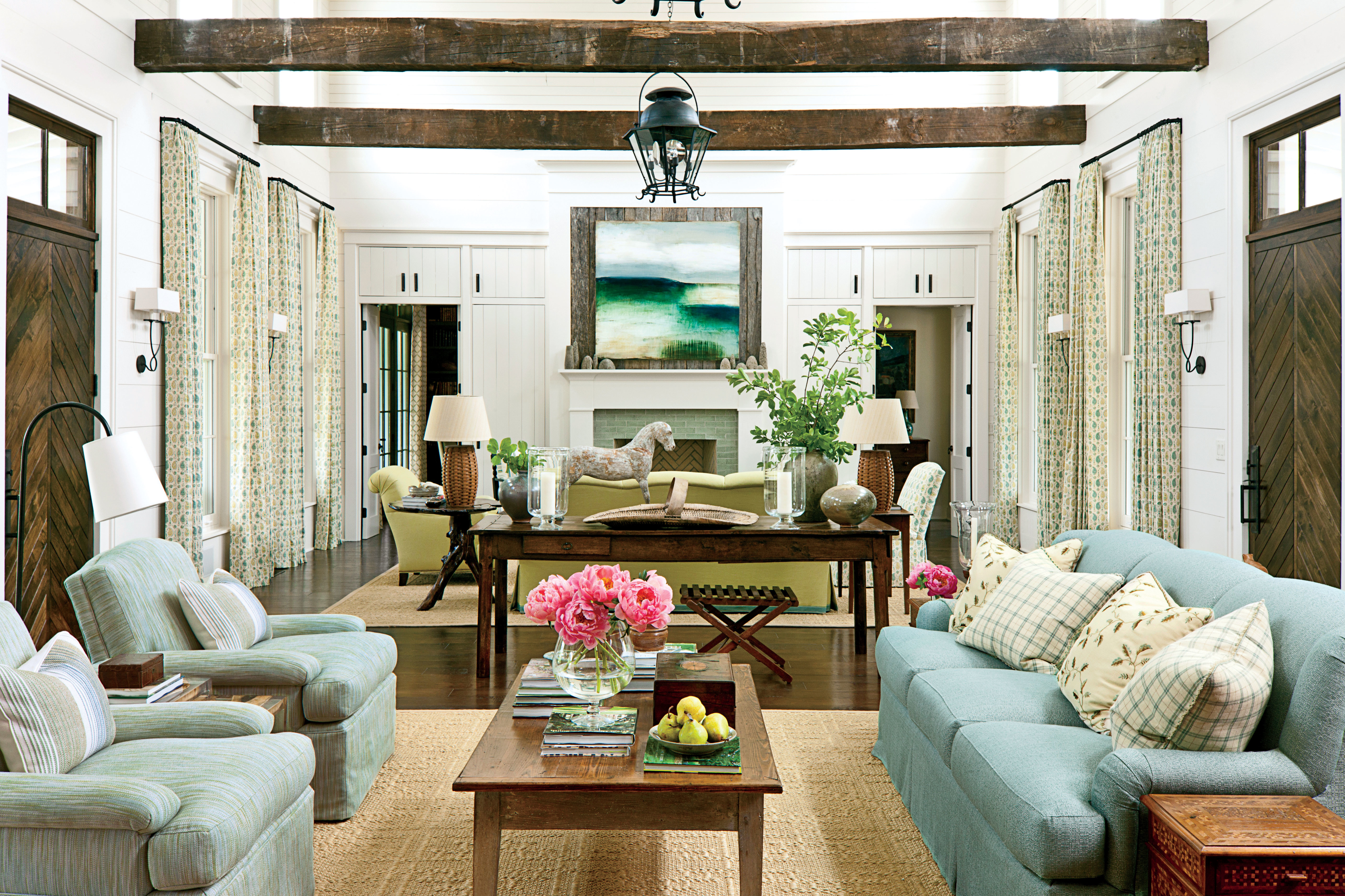 Southern Living Living Room The Living Room Nashville Idea House At Fontanel Southern Living