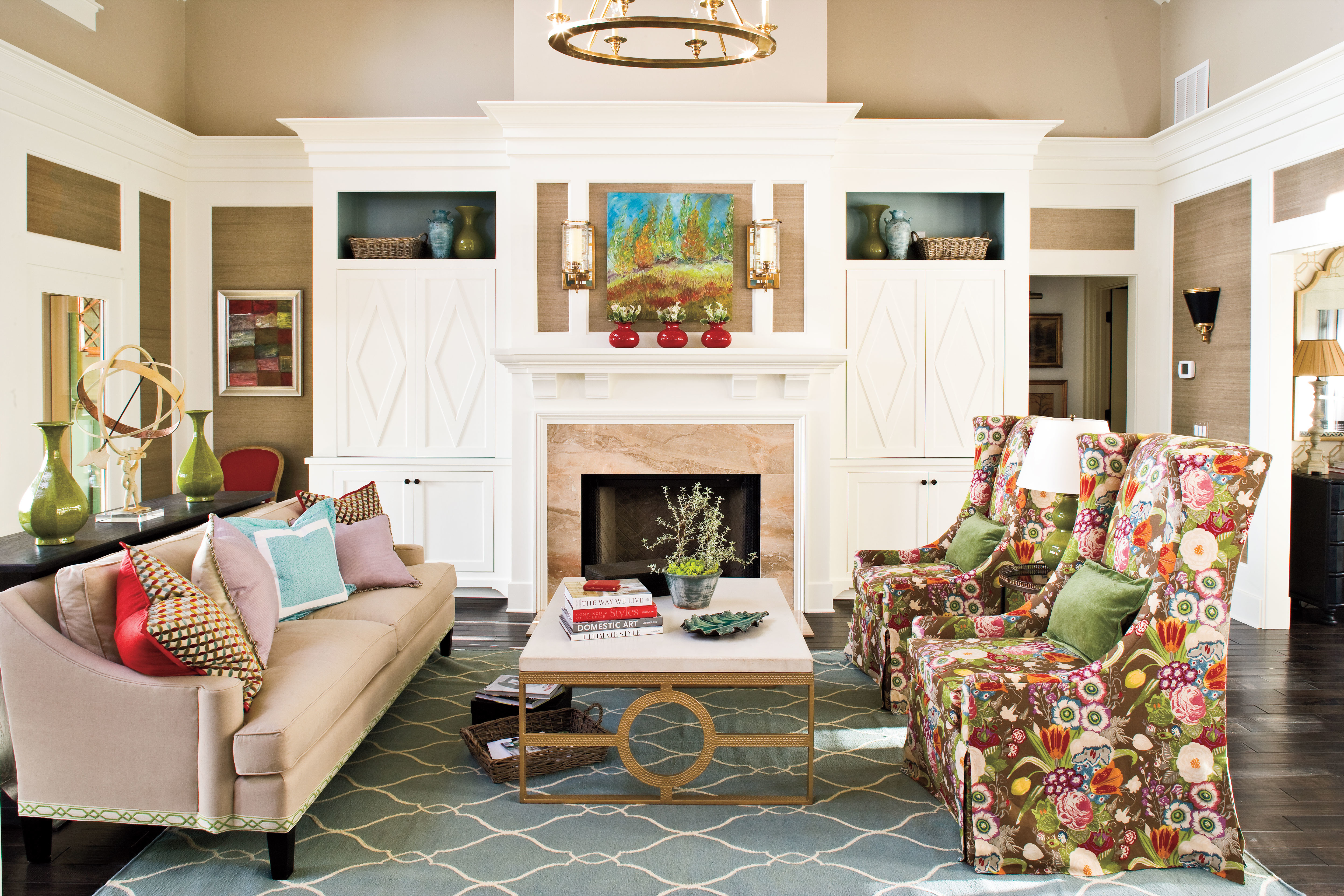 Southern Living Living Room Embrace Bold Prints 106 Living Room Decorating Ideas Southern
