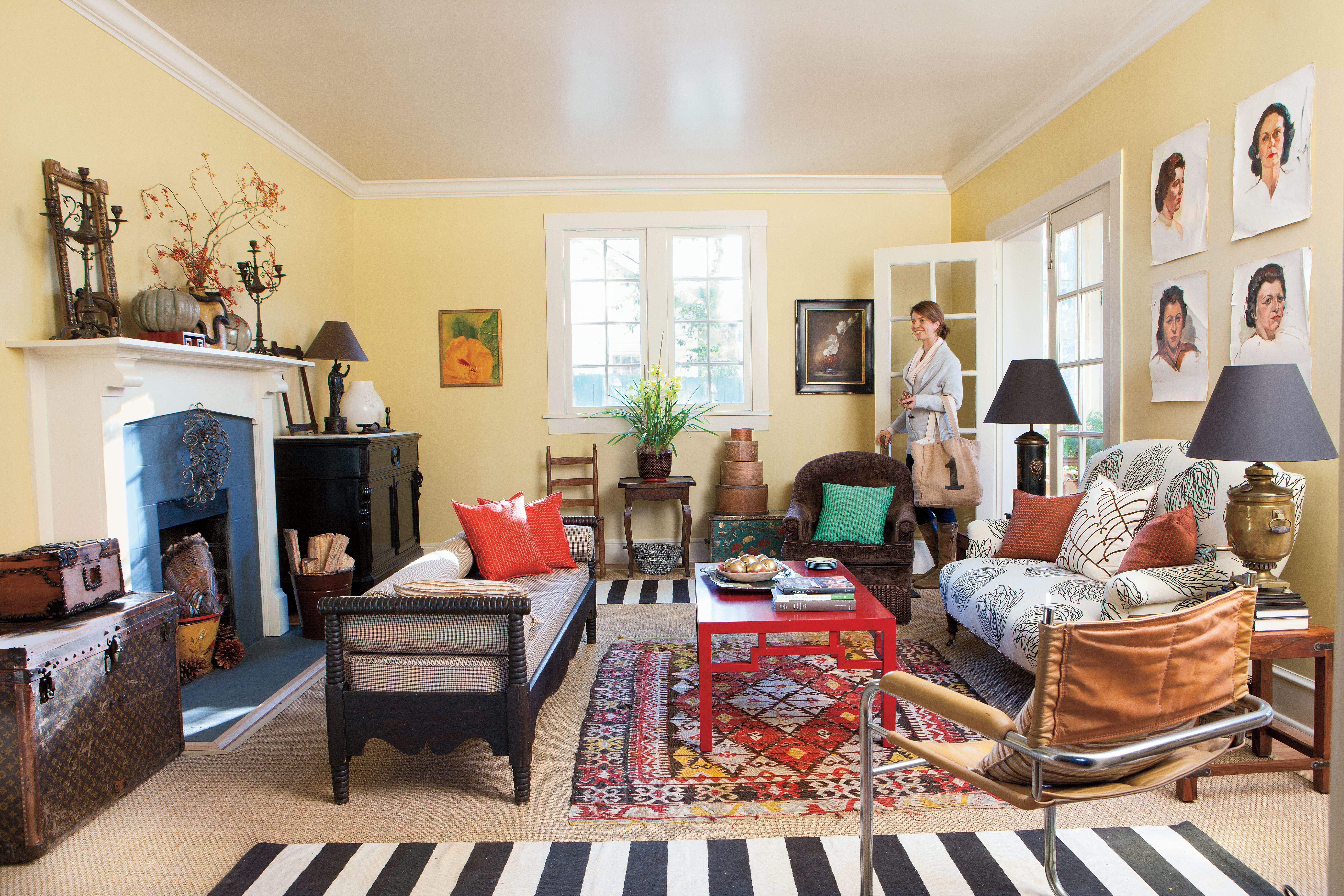 Southern Living Living Room Layer Rugs 106 Living Room Decorating Ideas Southern Living