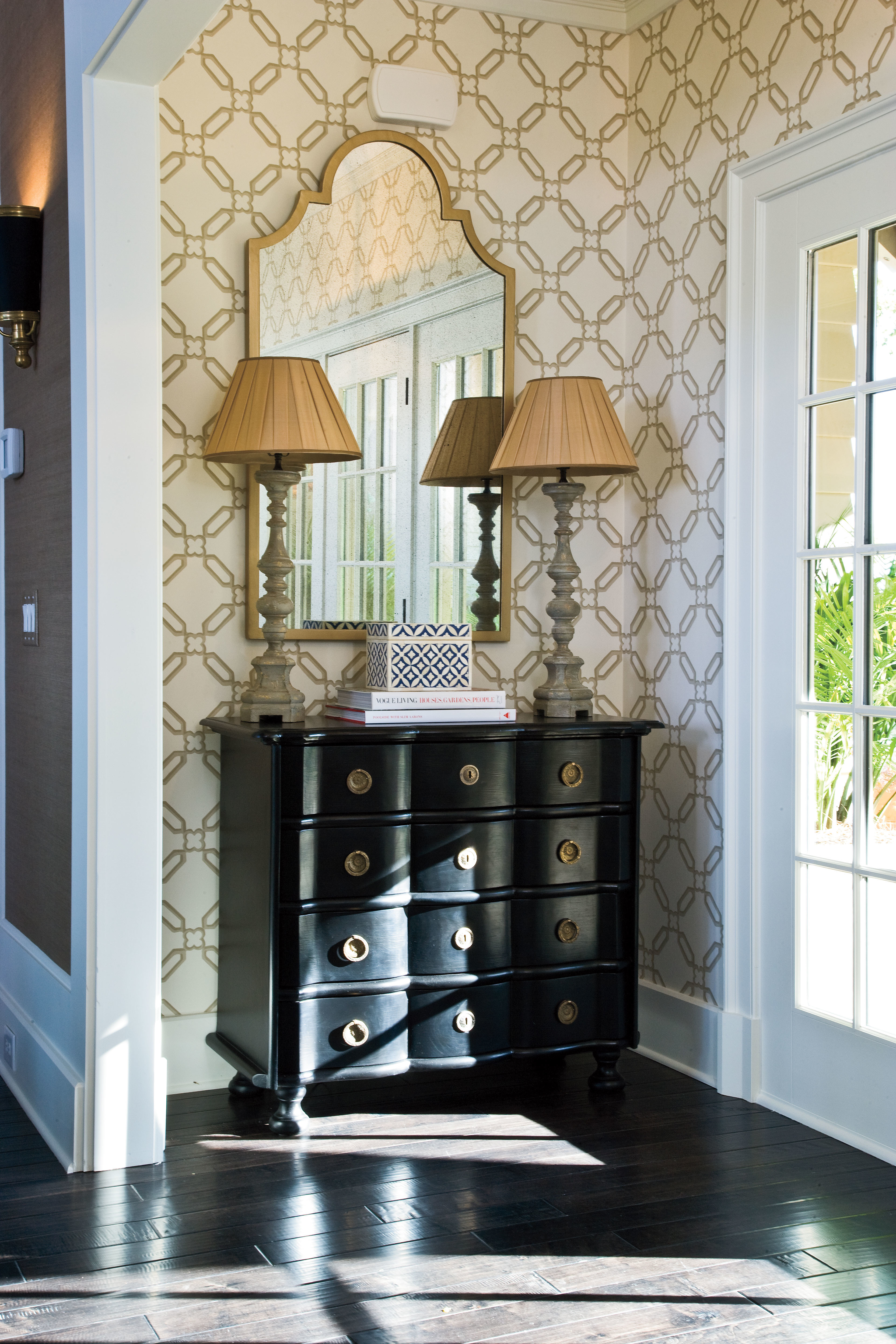 Vivid Wallpaper - Fabulous Foyer Decorating Ideas - Southern Living