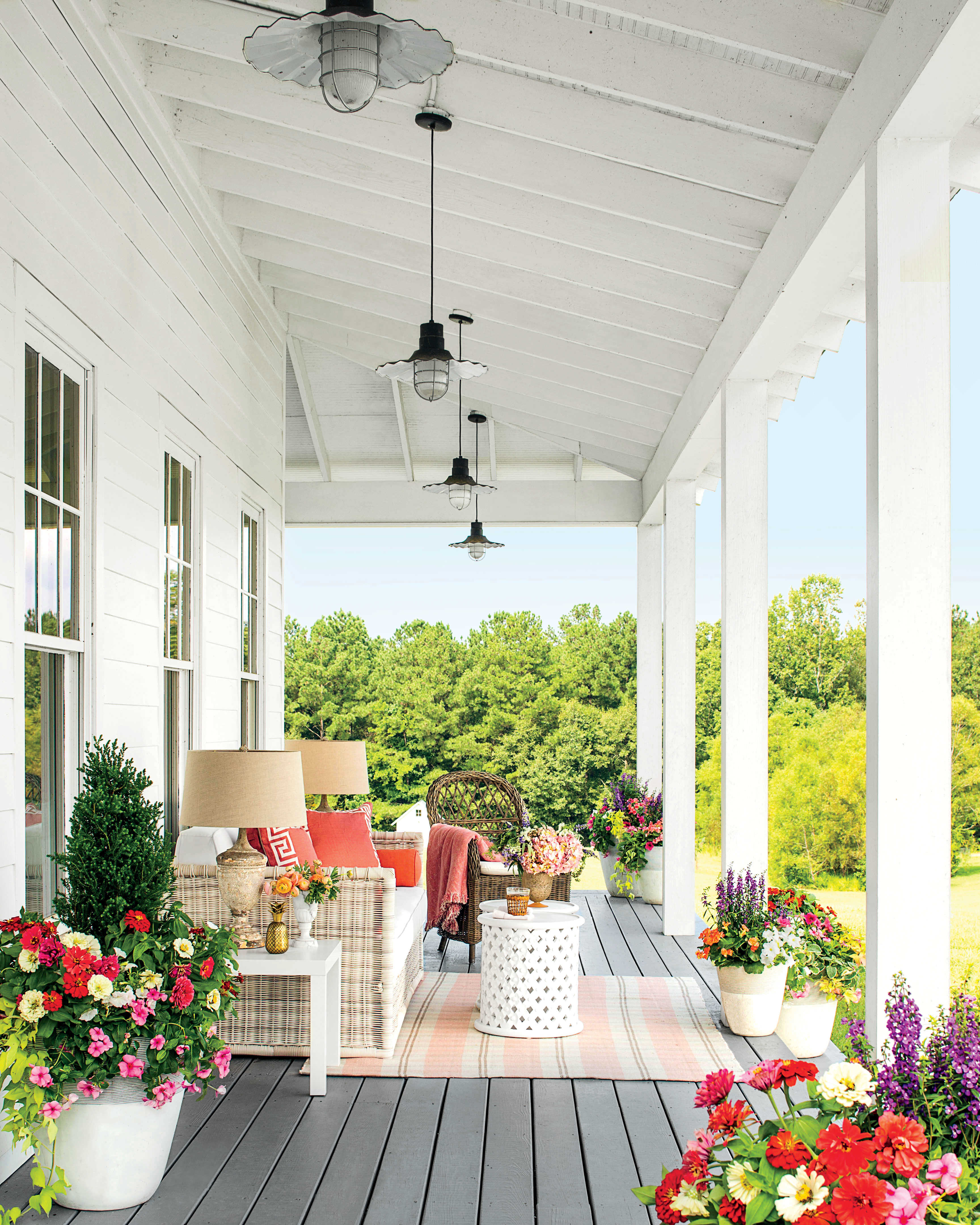 Porch And Patio Design Inspiration Southern Living - Home porch designs