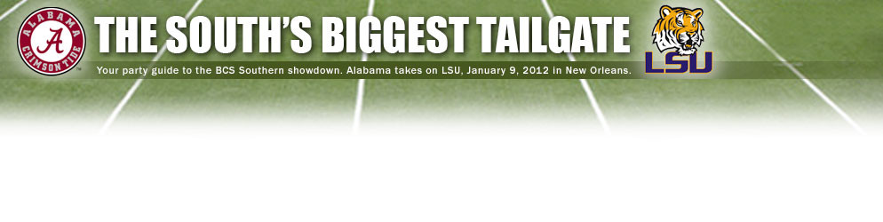 National Championship: South's Biggest Tailgate Banner
