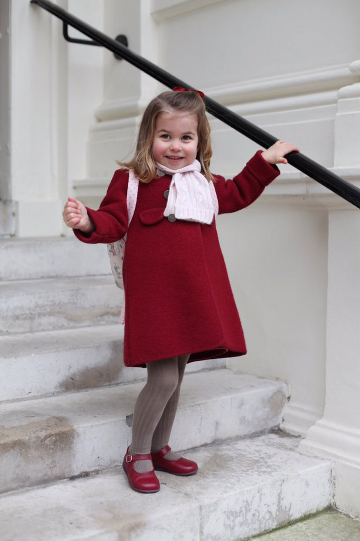 Princess Charlotte Channels Grandma Princess Diana on First Day of Nursery School