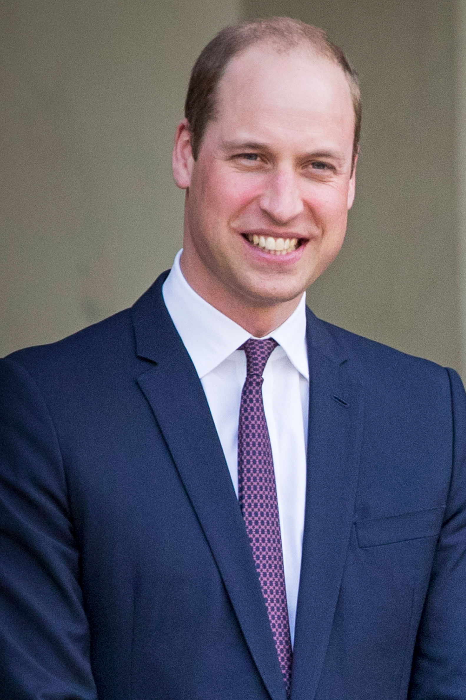 Prince William Finally Bites the Bullet, Shaves His Head