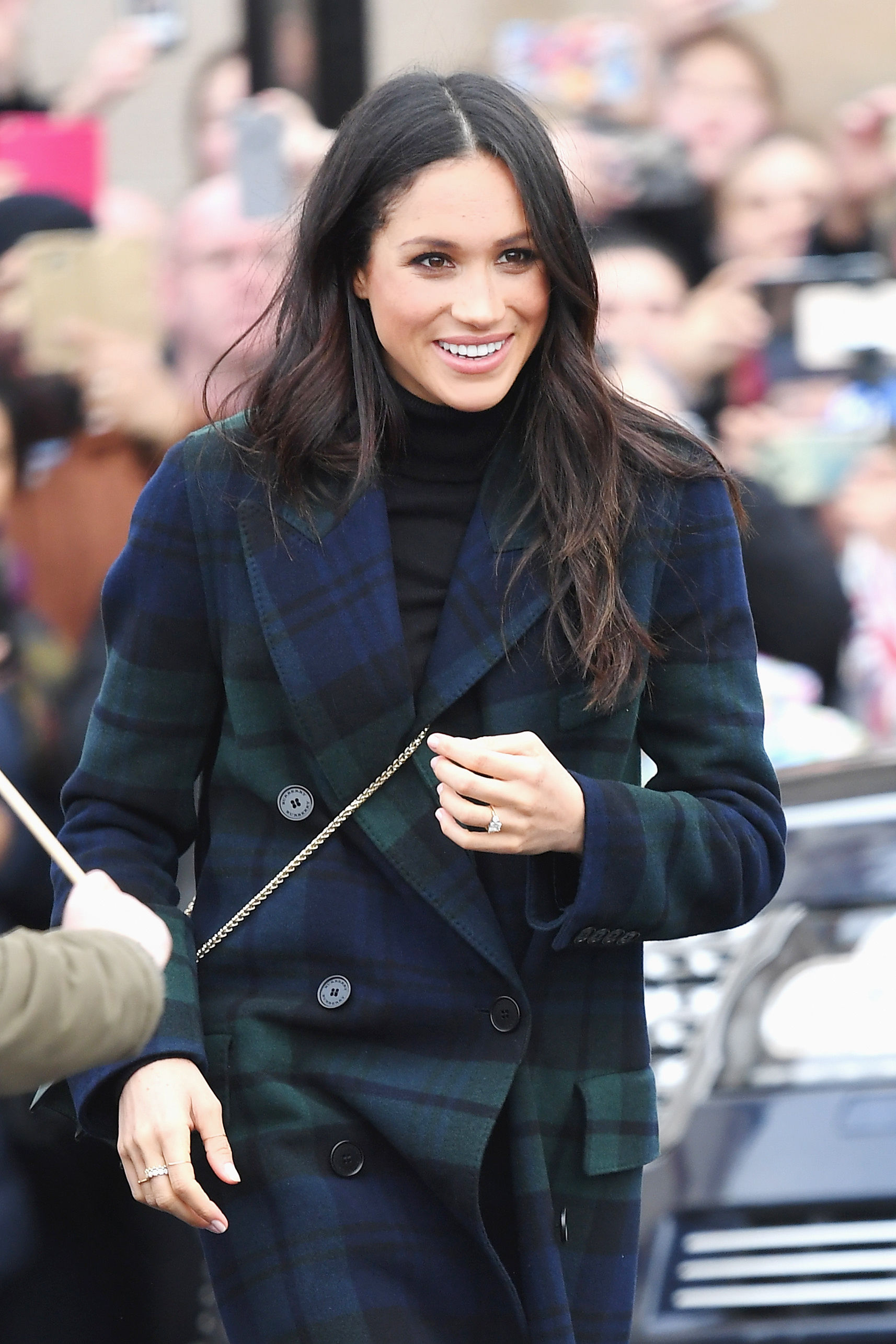 Meghan Markle Channeled Princess Diana and Kate Middleton in a Print All Royals Love
