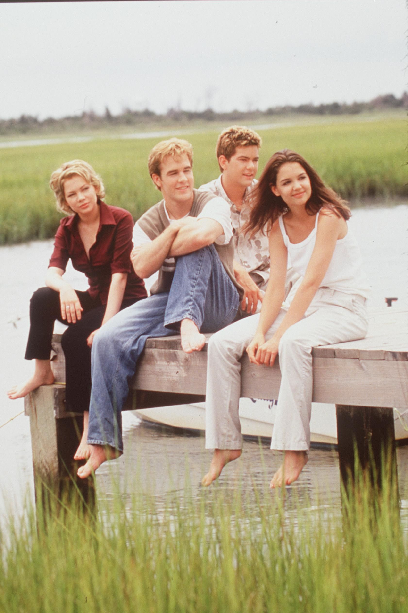The Dawson's Creek Cast Reunited After 20 Years and They're Still Total Heartthrobs
