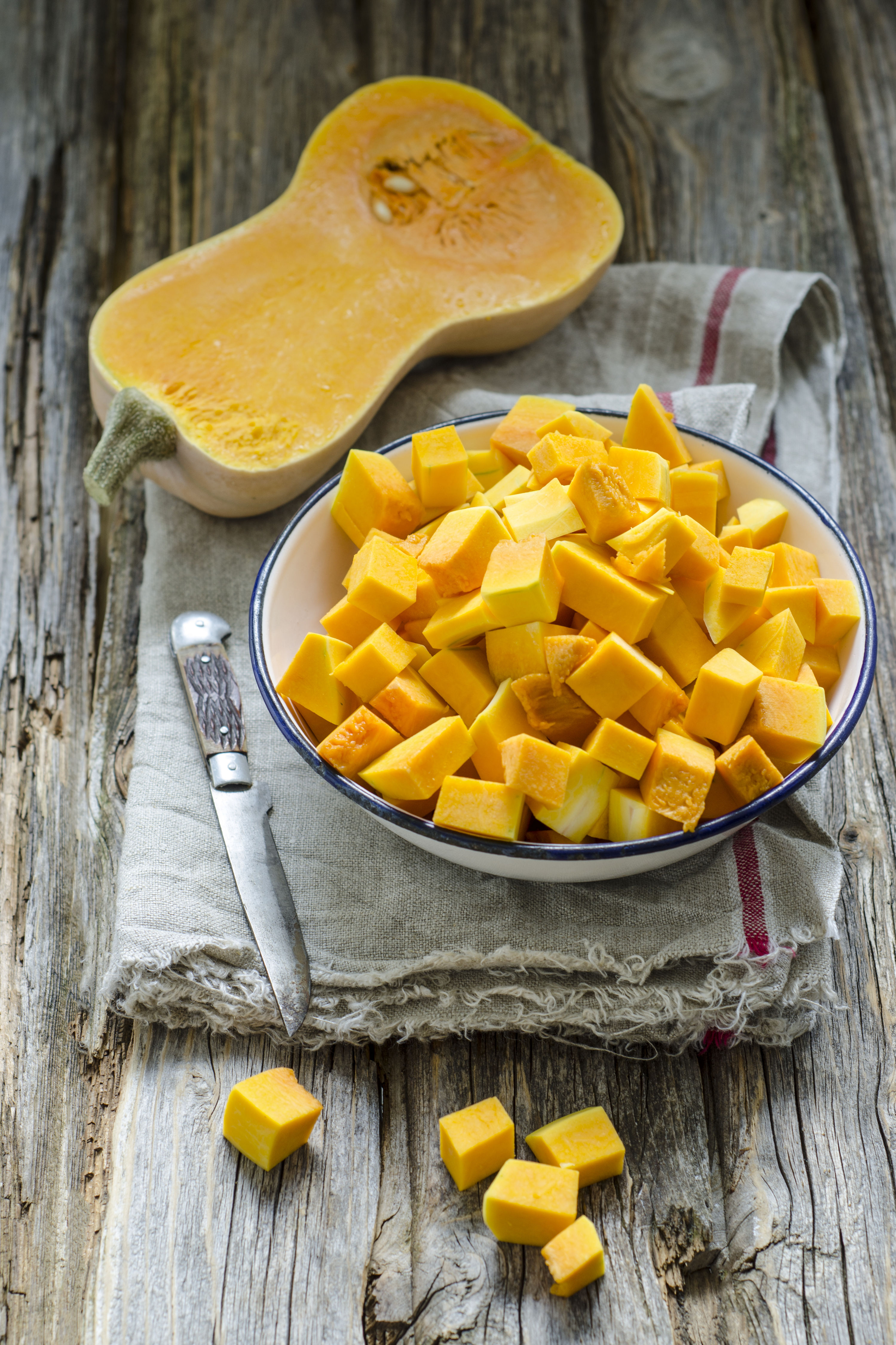 WATCH: Does Peeling Butternut Squash Make Your Hands Feel Weird? Here's Why.