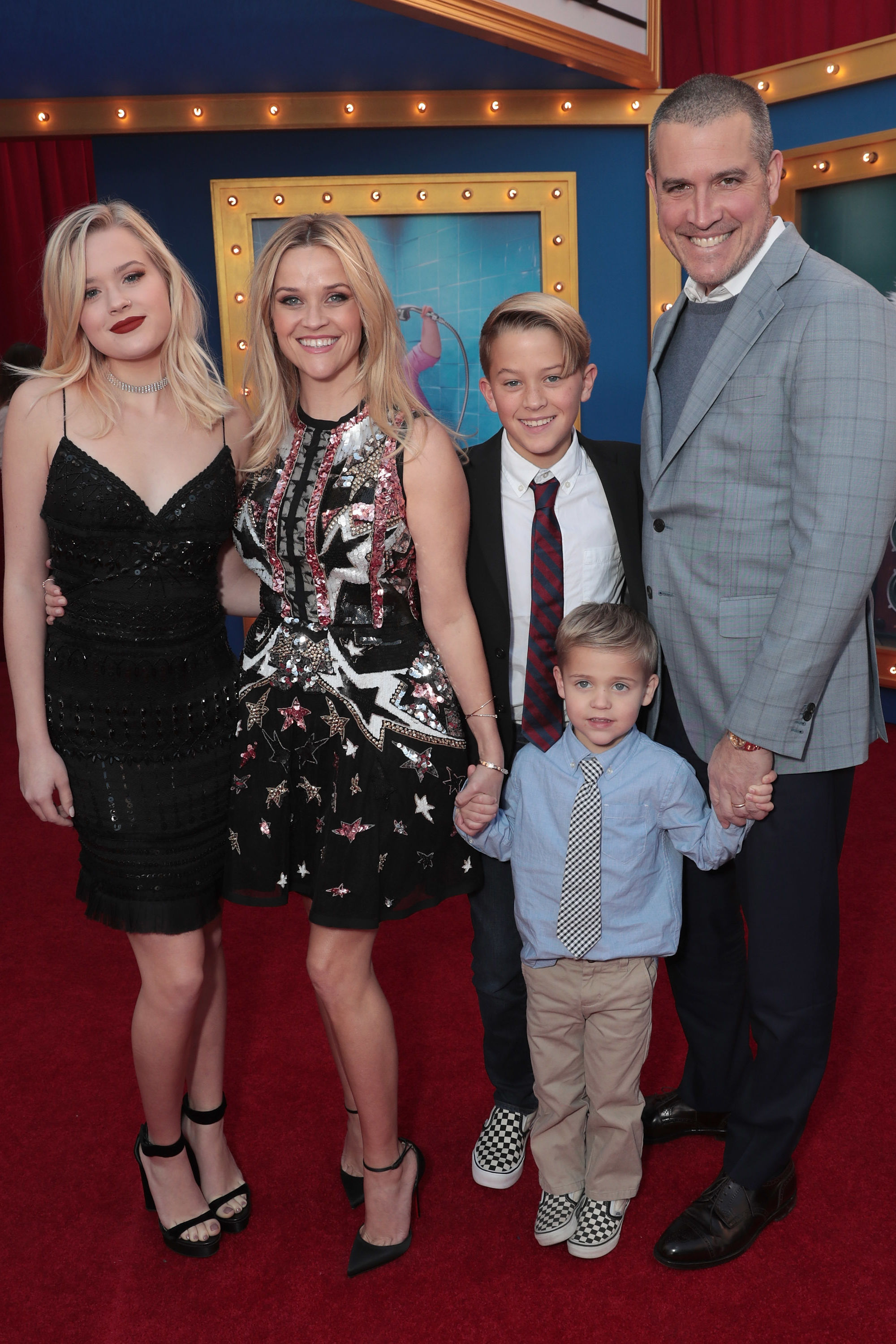 Reese Witherspoon and Matthew McConaughey Brought Their Adorable Kids to the 'Sing' Premiere