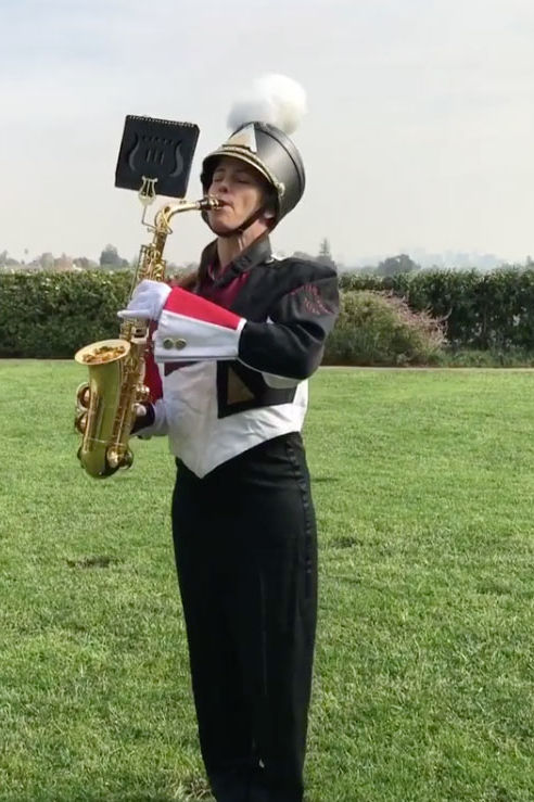 Jennifer Garner Showed Up In Full Marching Band Gear To Wish Reese Witherspoon A Happy Birthday