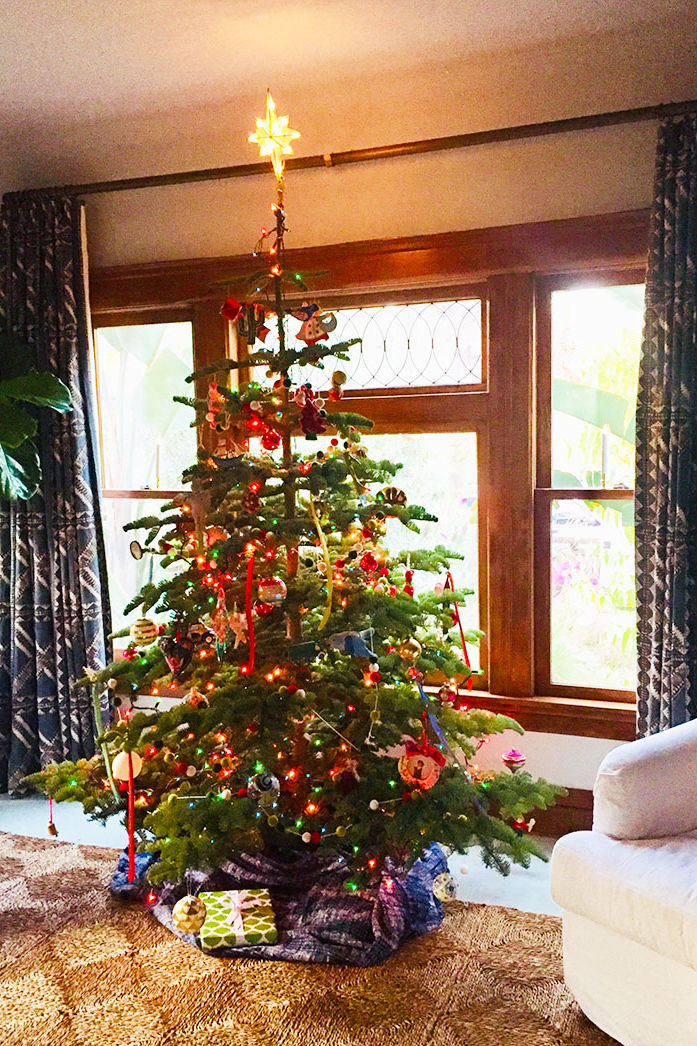 This Is What Our Homes & Garden Editor Thinks of the Pencil Christmas Tree