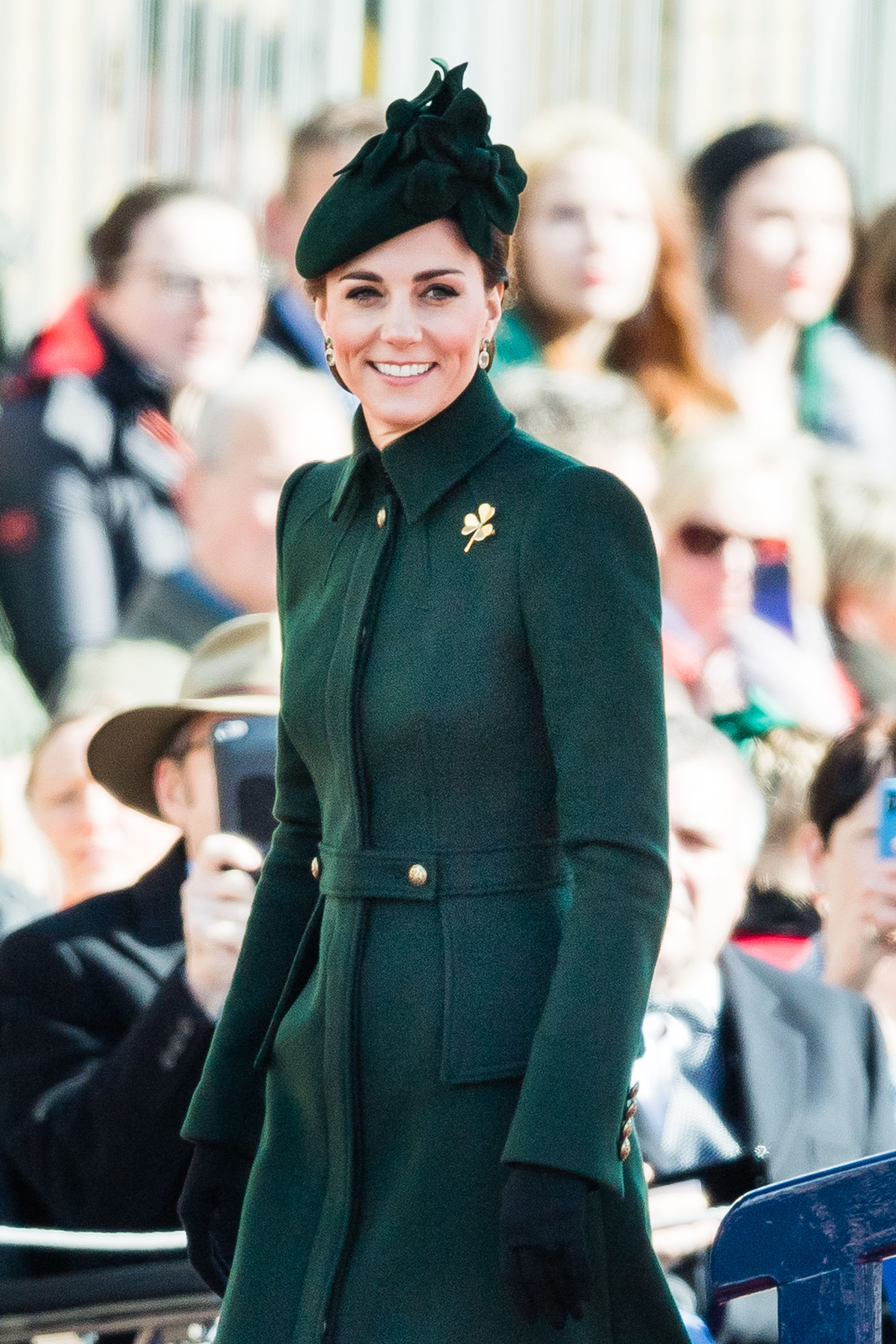 The Surprising History Behind Kate Middleton's Beautiful Shamrock Brooch