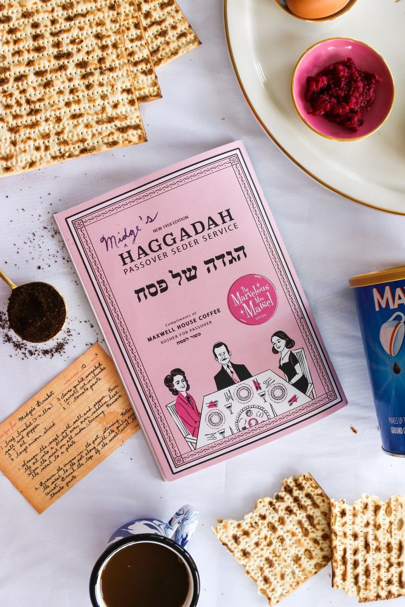 Maxwell House's <i> Marvelous Mrs. Maisel </i> Haggadah Is Just What Your Passover Seder Needs