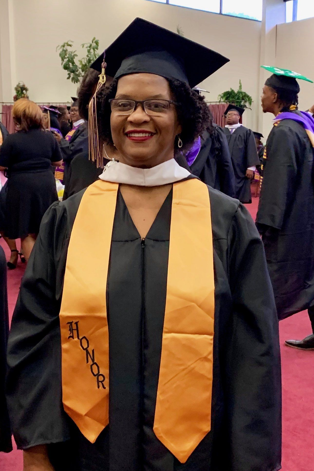 59-Year-Old Memphis Woman Graduates with Three College Degrees