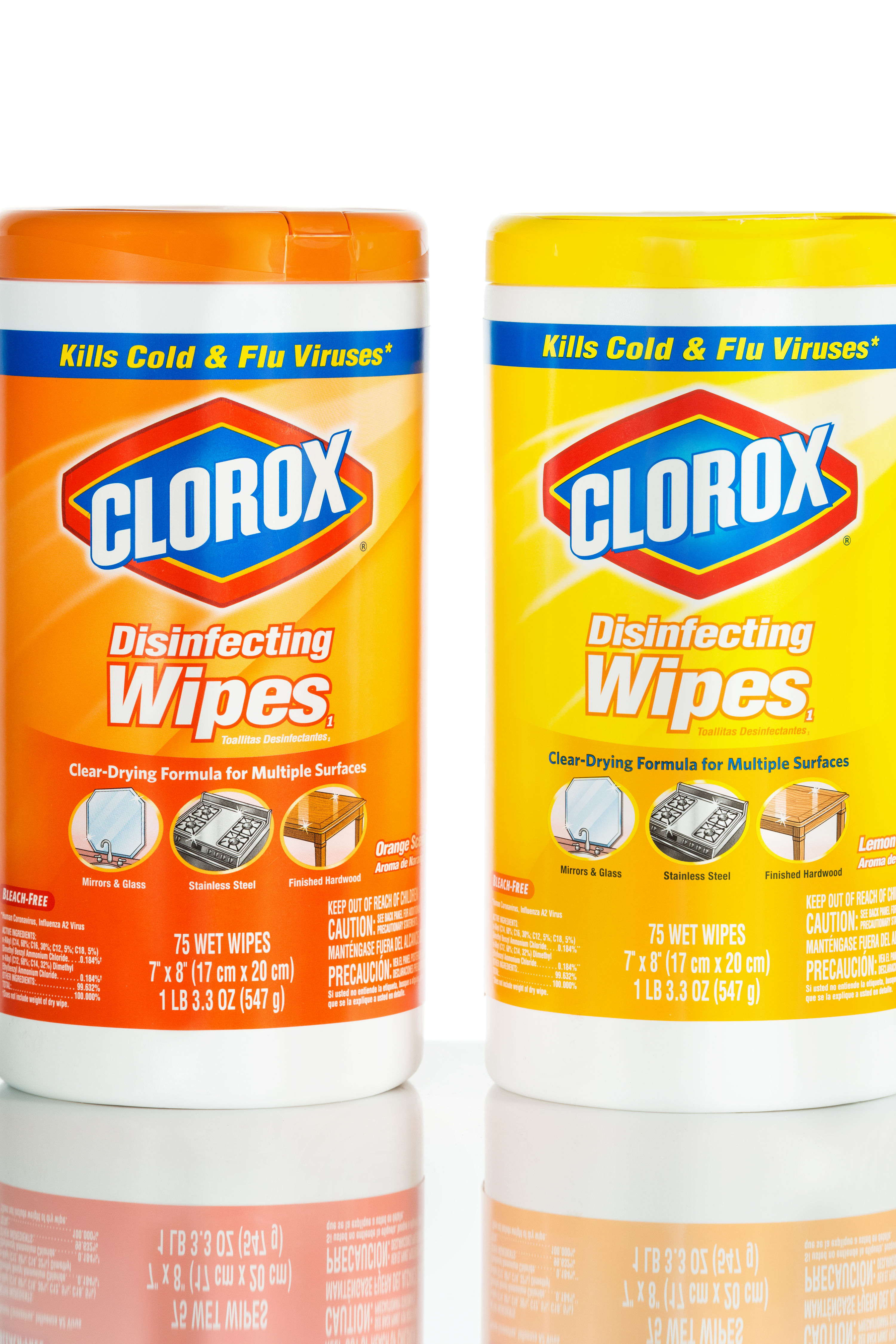 You Should Never, Ever Use Clorox Wipes on This Surface