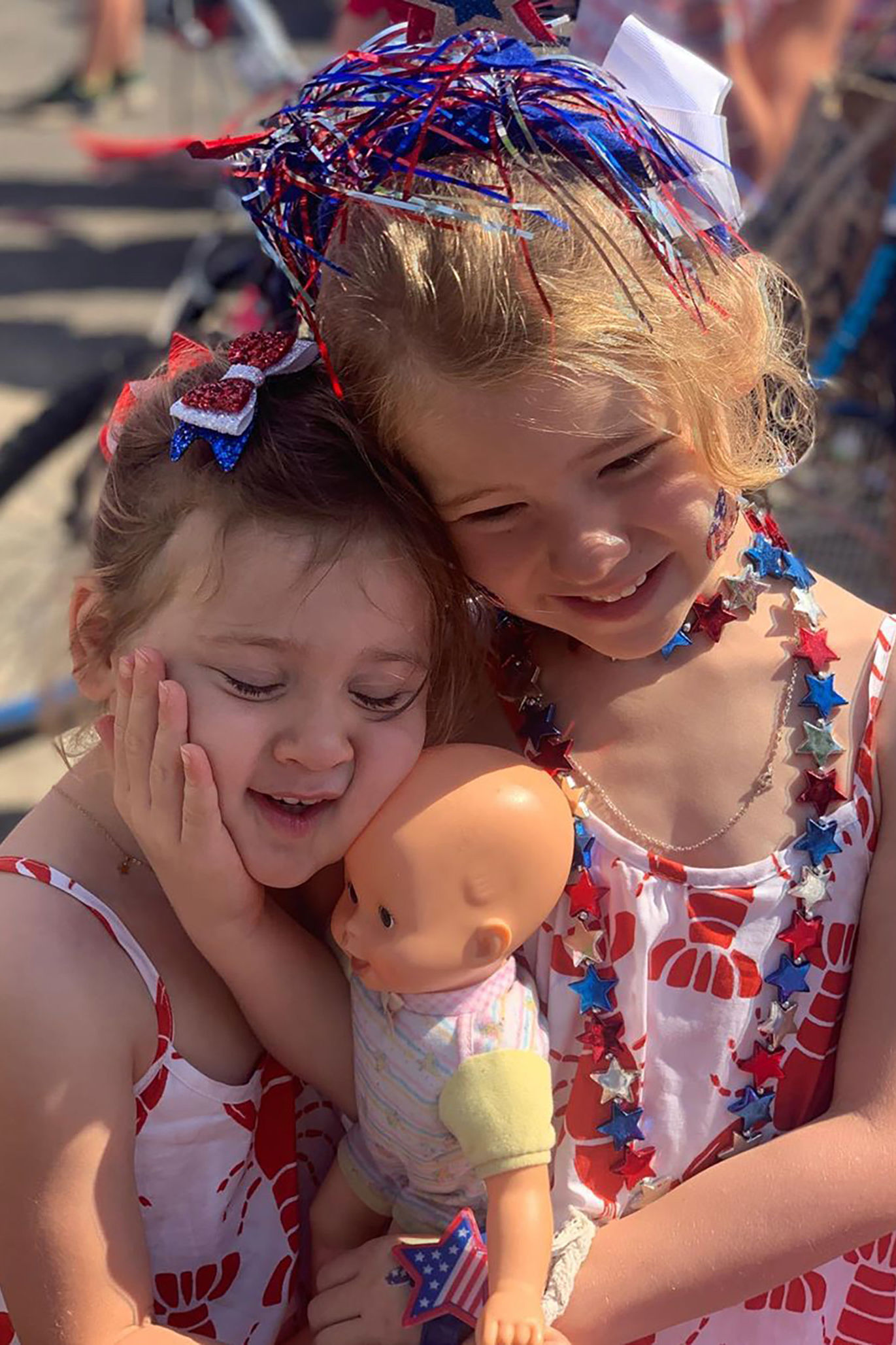 Jenna Bush Hager Says Daughters are 'Practicing for Baby Bro' in Sweet July 4th Post