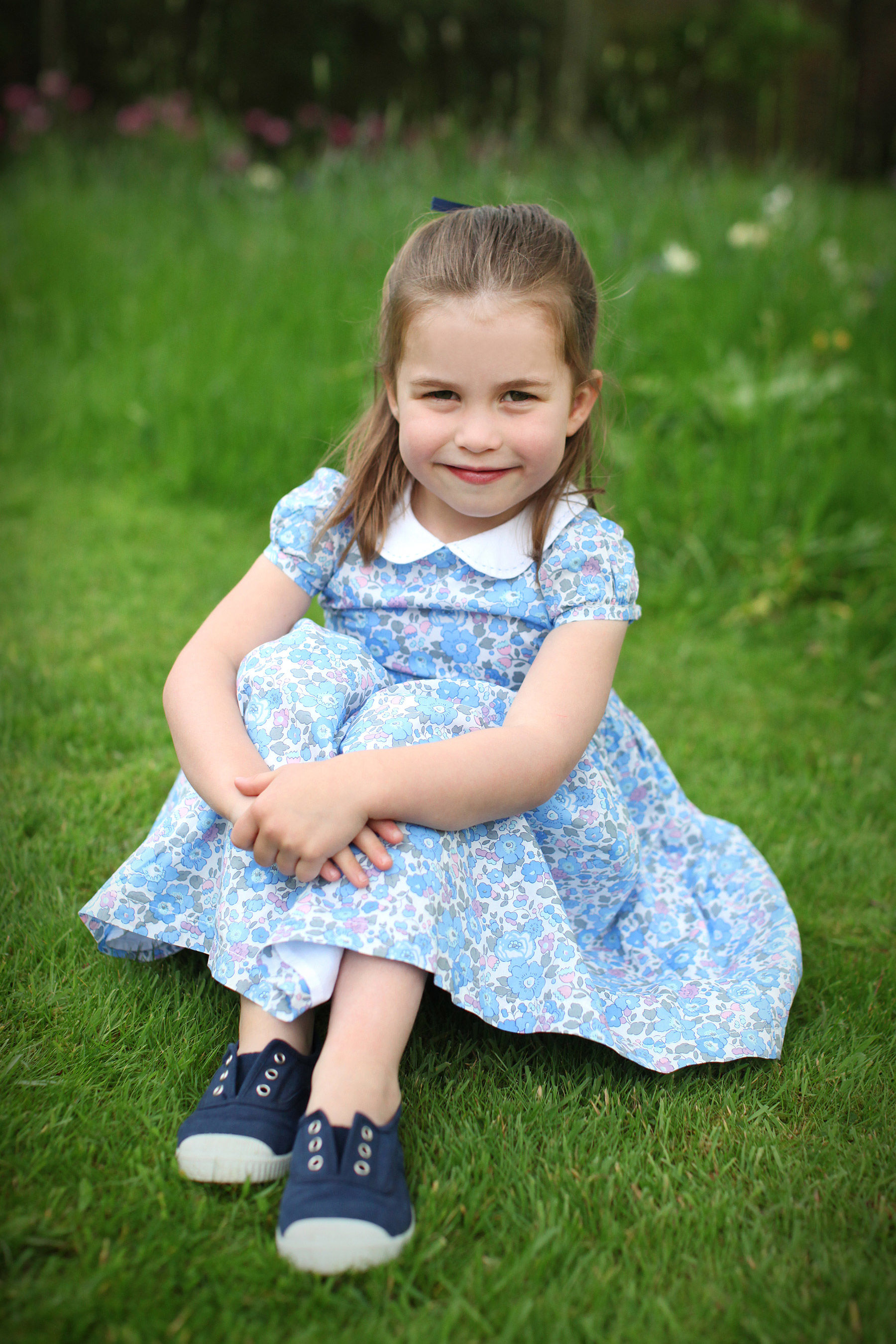 Princess Charlotte Is a Little Lady in New Birthday Photos Taken by Kate Middleton — See All 3!
