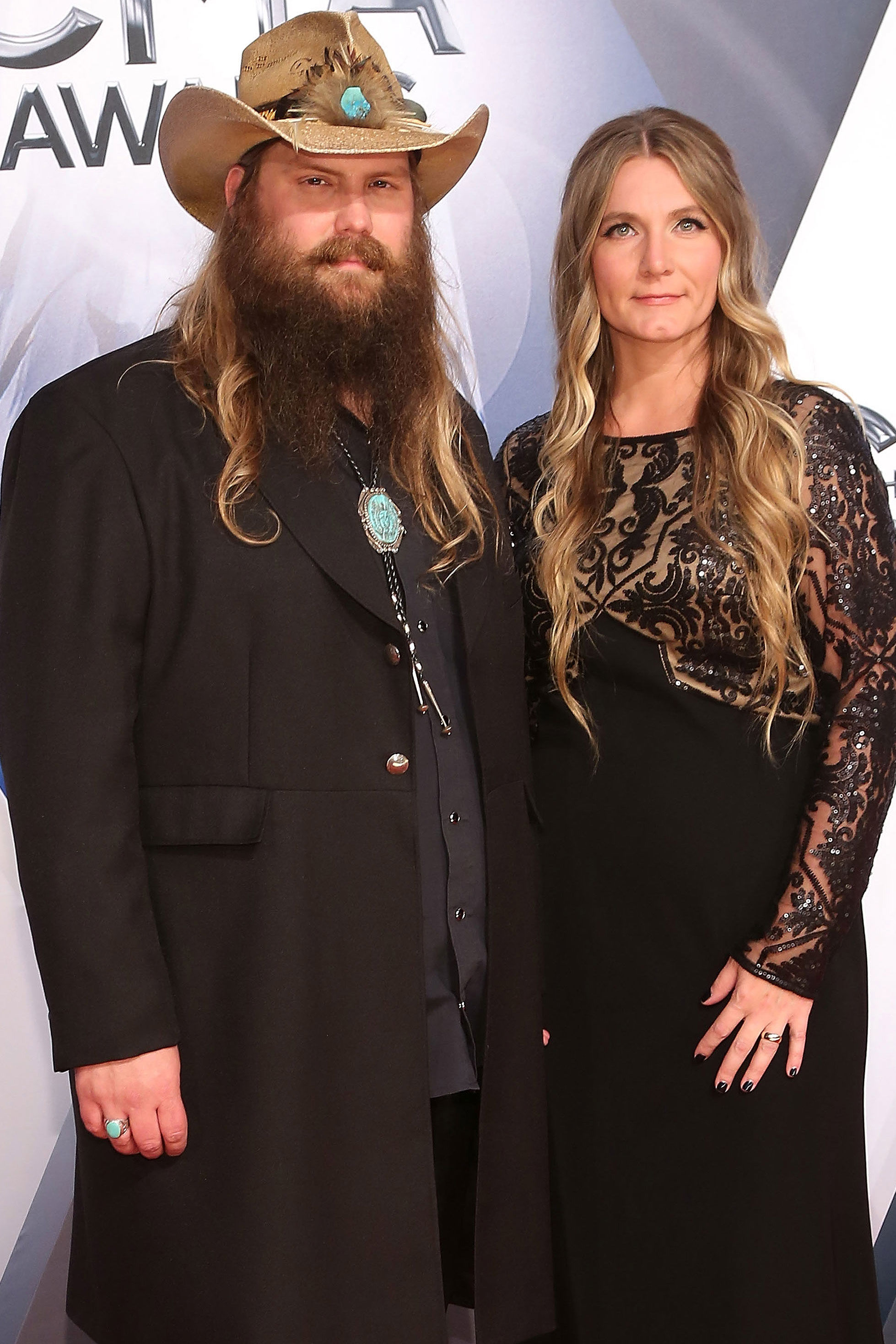 Chris Stapleton's Wife Shares First Photo of Twins, Reveals They Were Born 'More Than a Month Early'