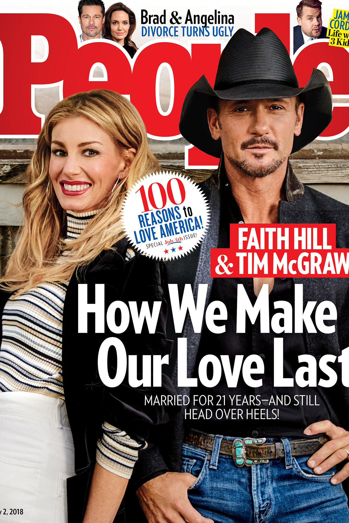 Still in Love After 21 Years! Tim McGraw & Faith Hill Say Date Nights, Prayer and Alone Time Keep Their Marriage Strong