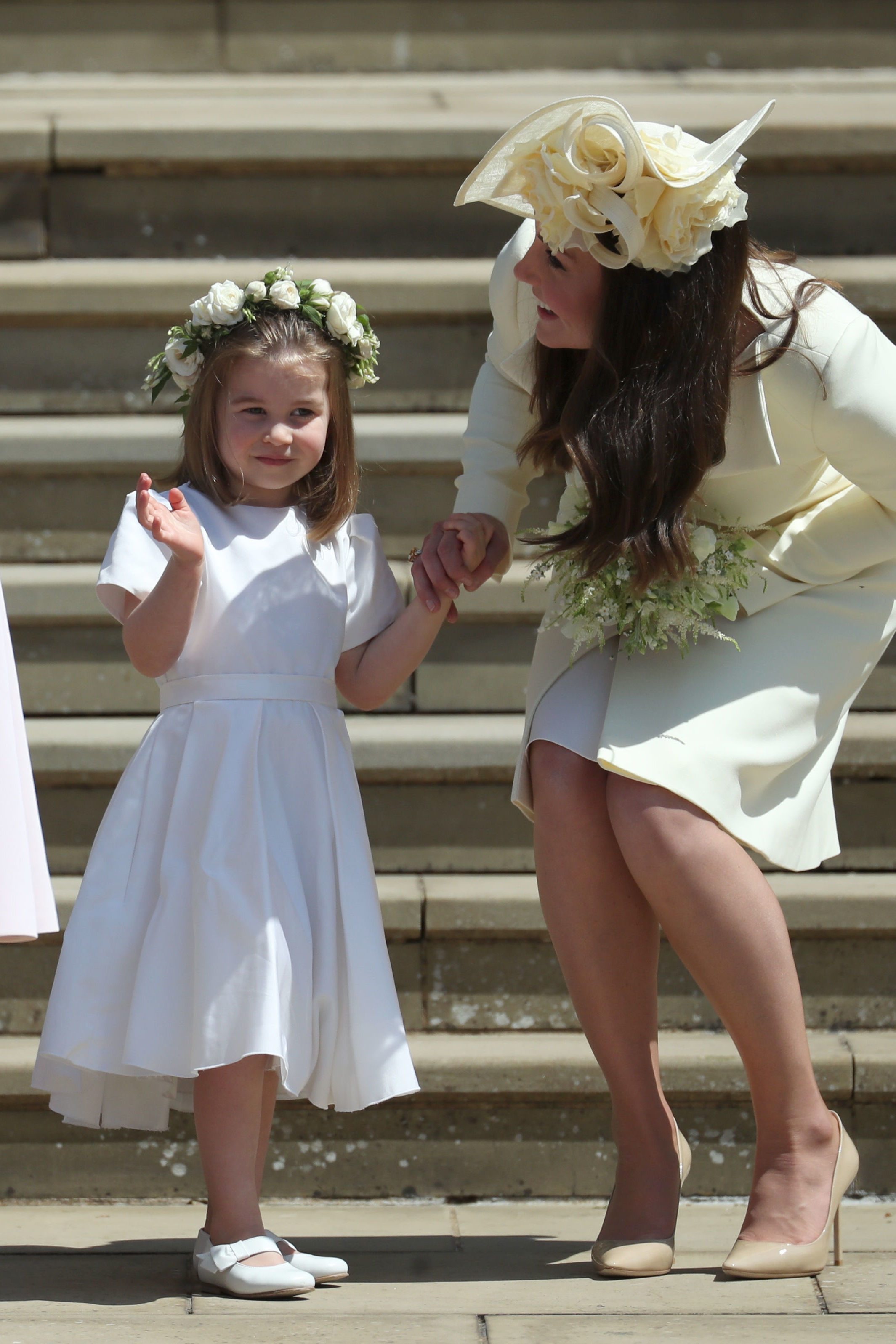 How Princess Charlotte Took Charge of the Other Kids at the Royal Wedding: 'No, You Can't Go Yet!'