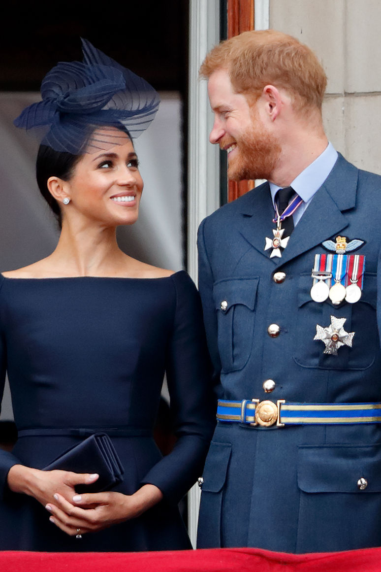 Meghan Markle and Prince Harry Make Their First Public Debut with Baby Sussex