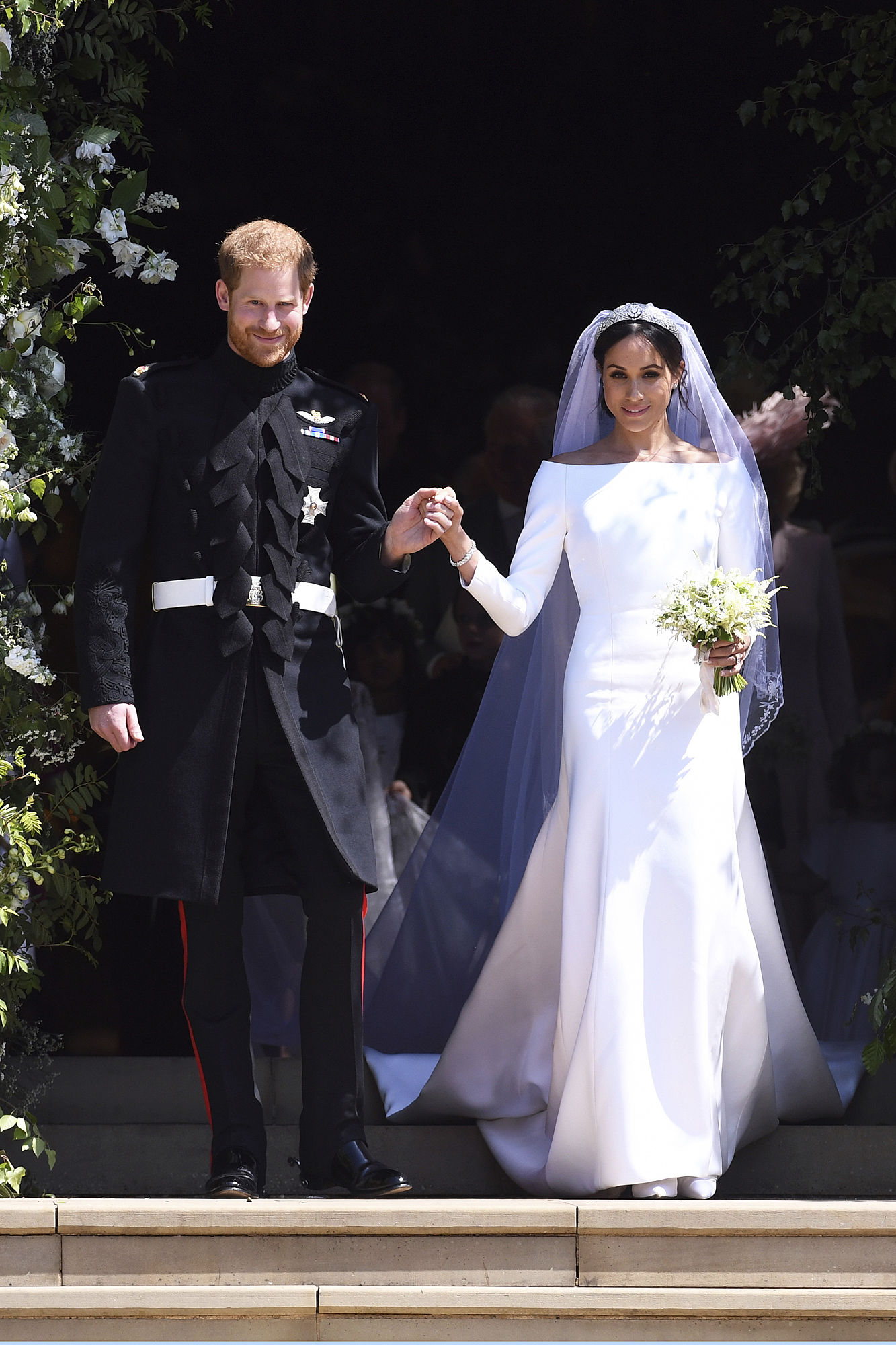 86bd1a3d2ac Meghan Markle and Prince Harry Share Previously Unseen Wedding Photos