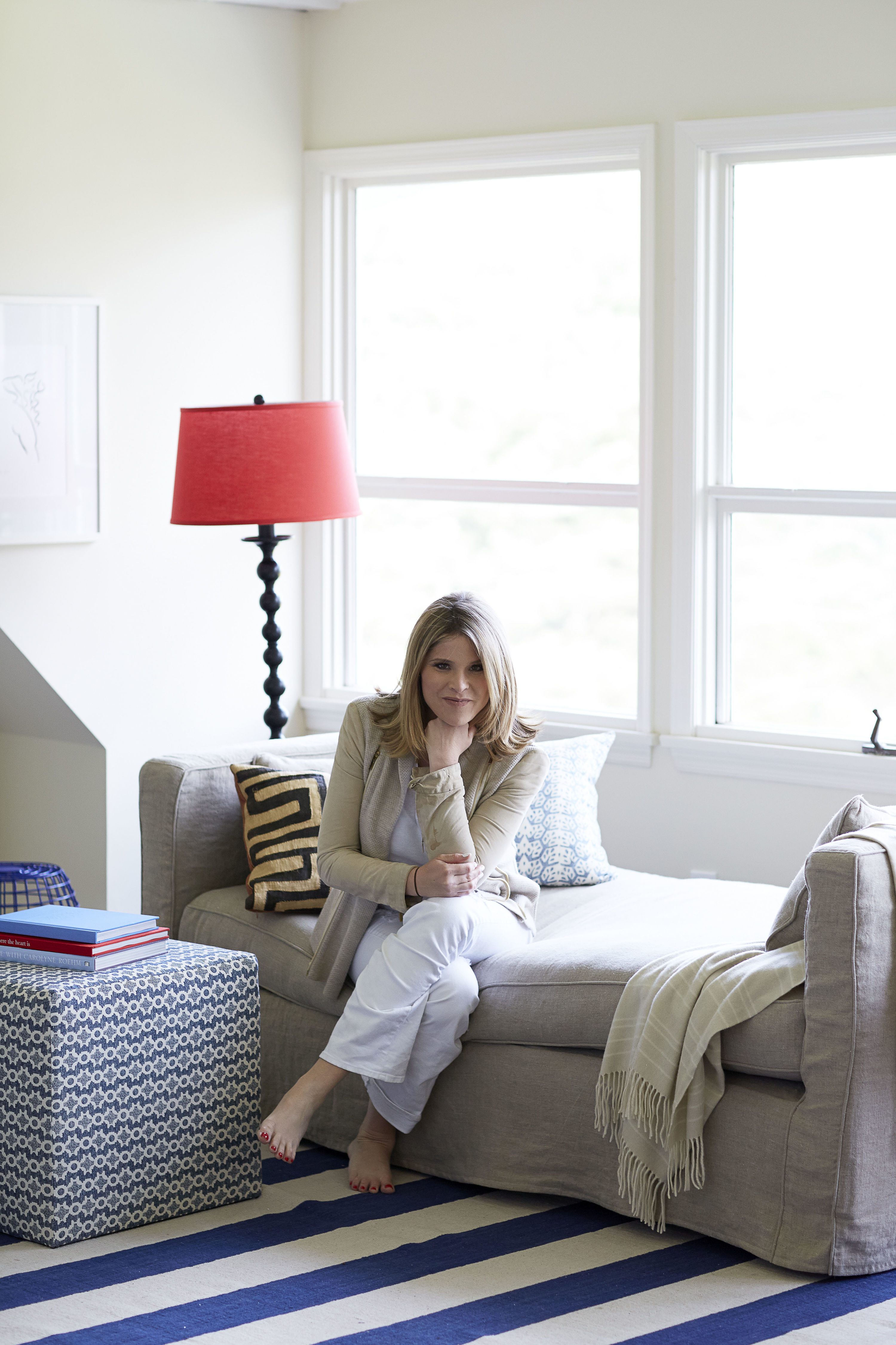 Classic With a Modern Twist: Jenna Bush Hager's Living Room Makeover