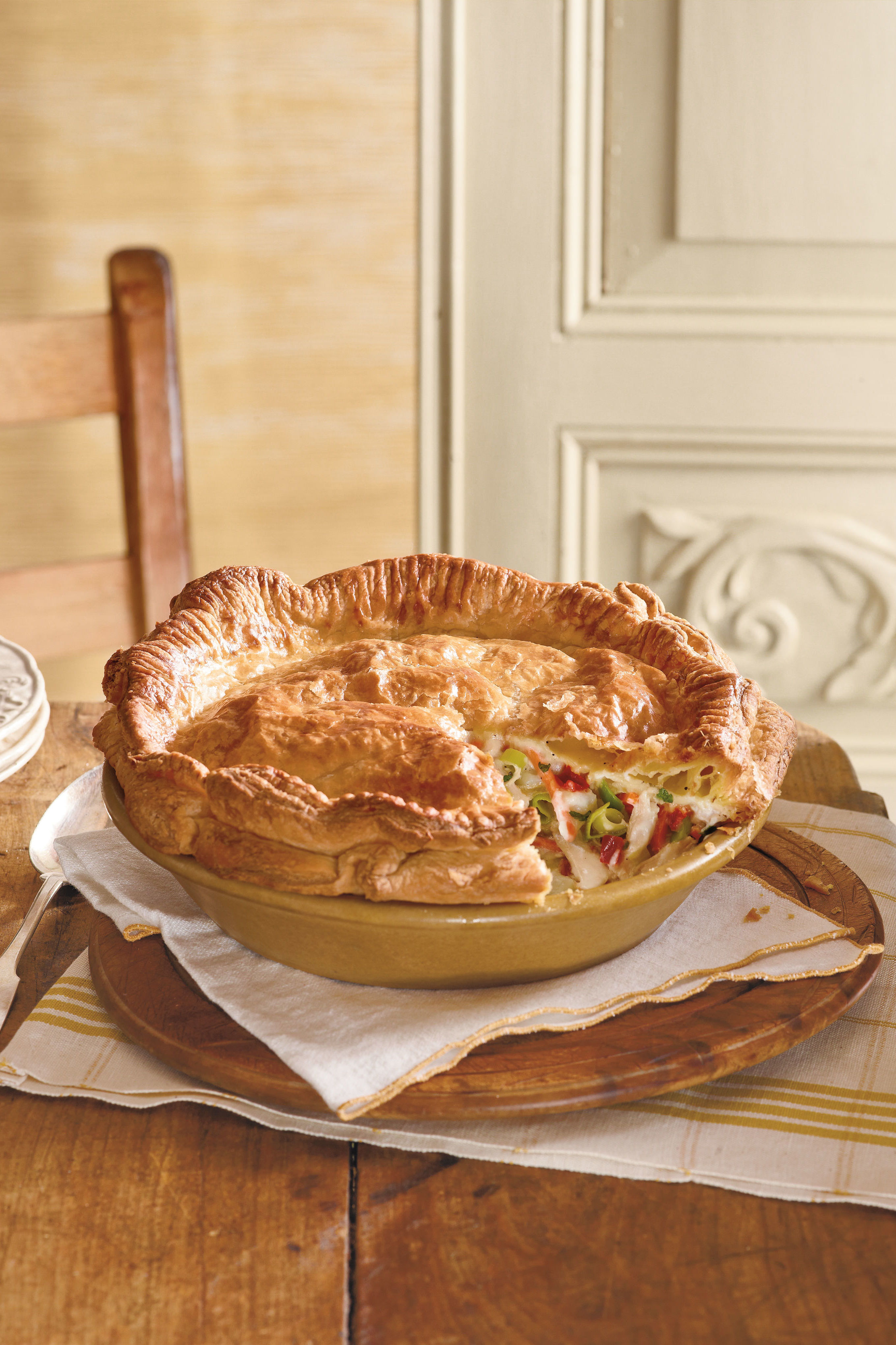 Mama's Way or Your Way? Chicken Pot Pie