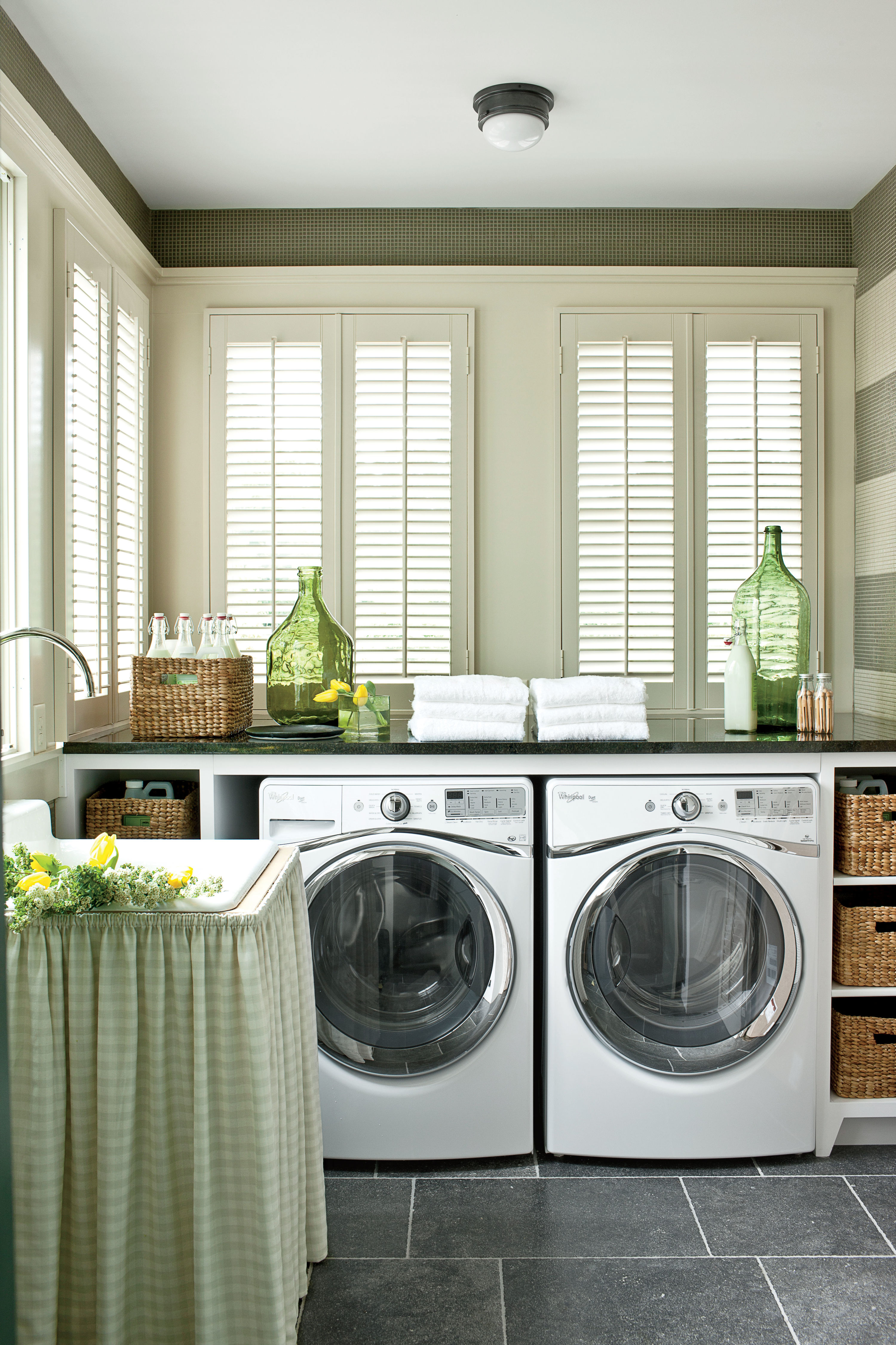 3 Tricks to Designing the Most Efficient Laundry Room