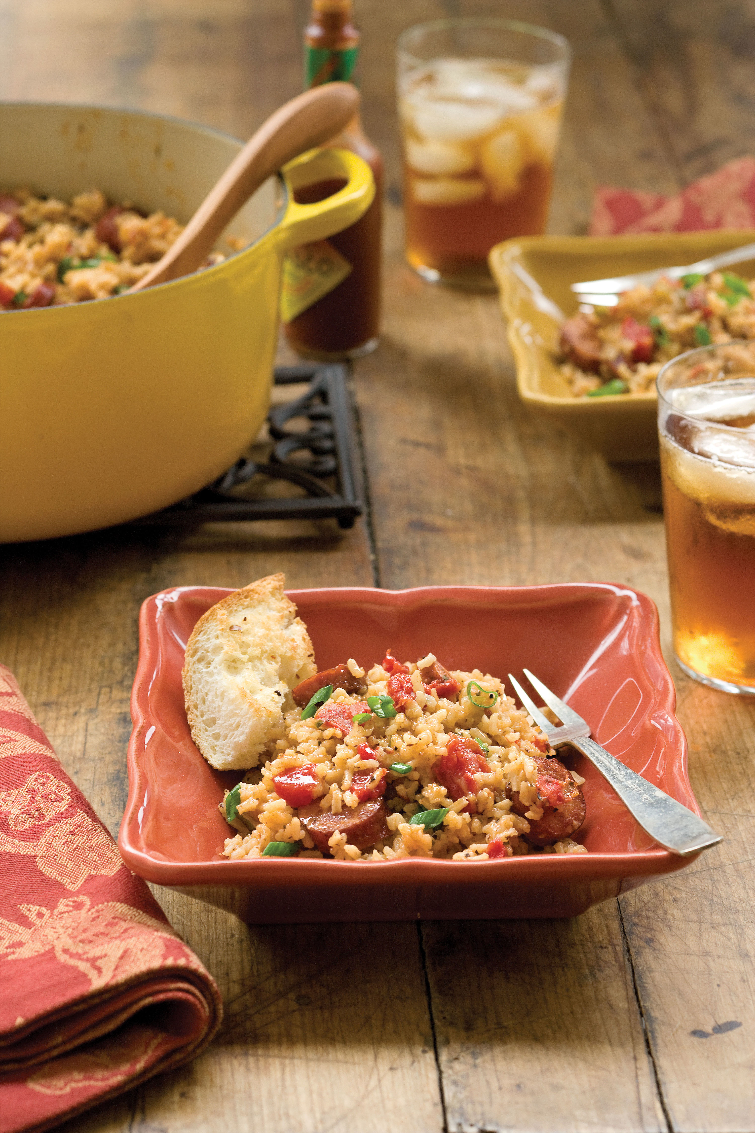 Quick-Fix Jammin' Jambalaya