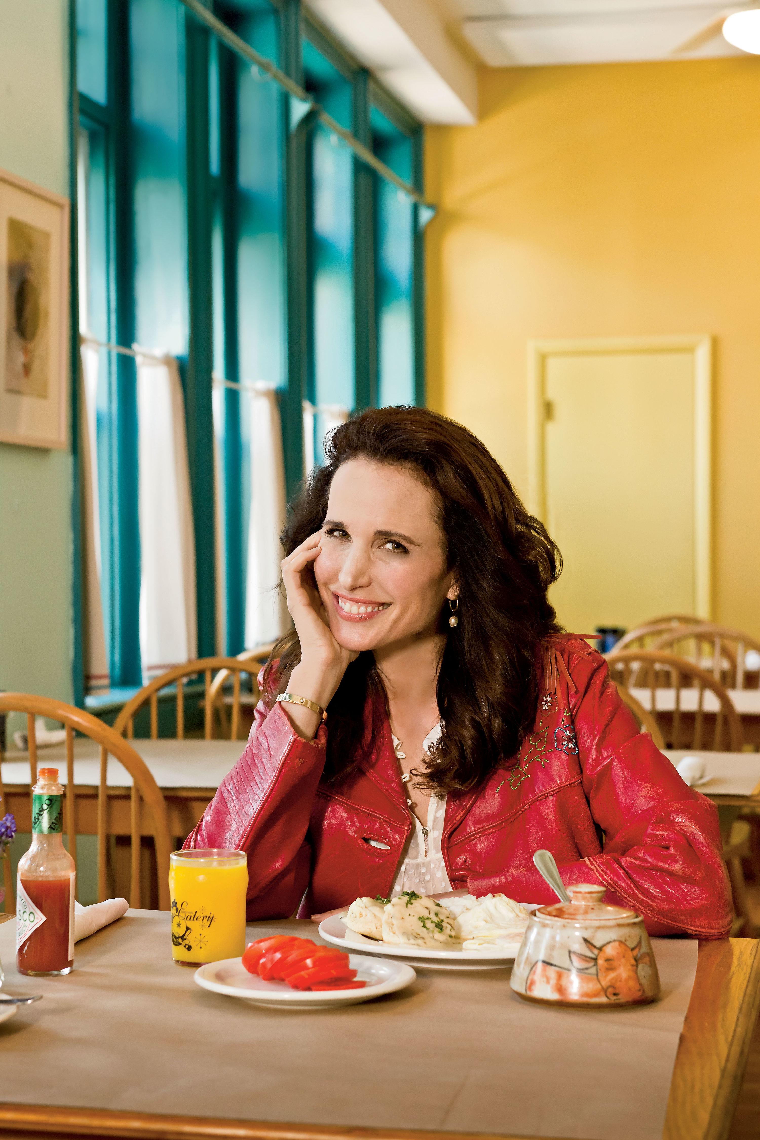 Paper Napkin Interview: Dishing with Andie MacDowell