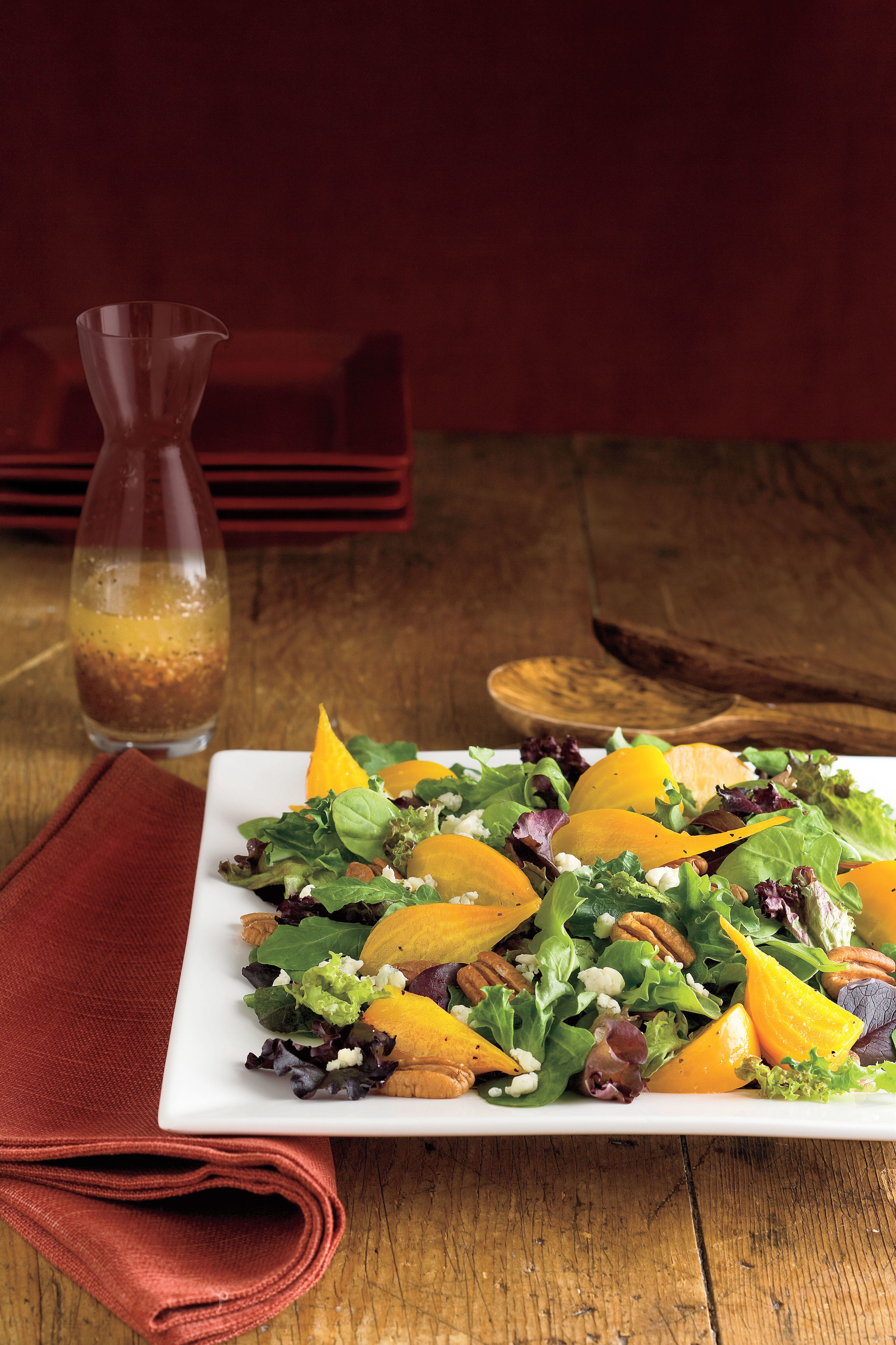 Delicious and Golden Salad