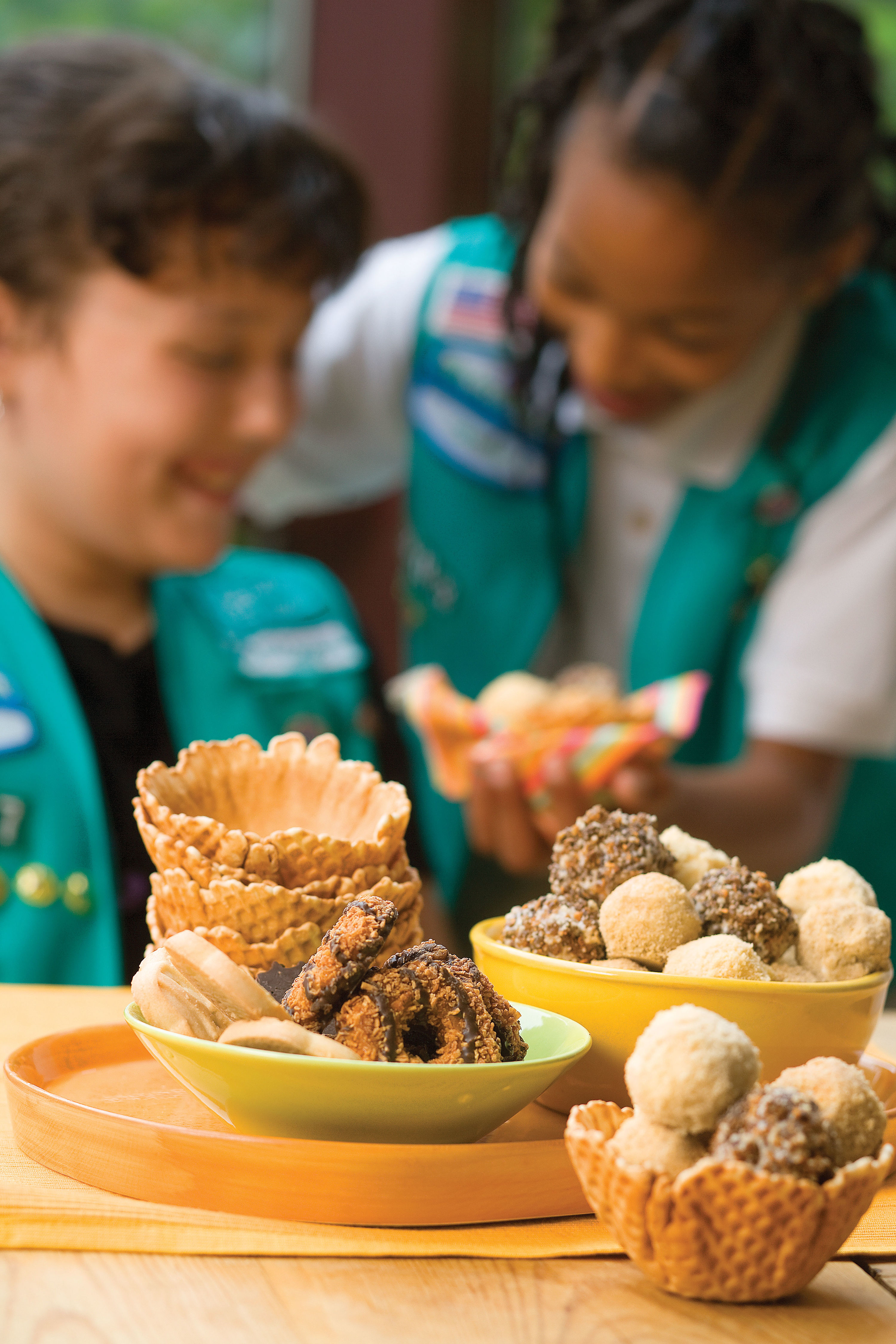 Desserts Made with Girl-Scout Cookies