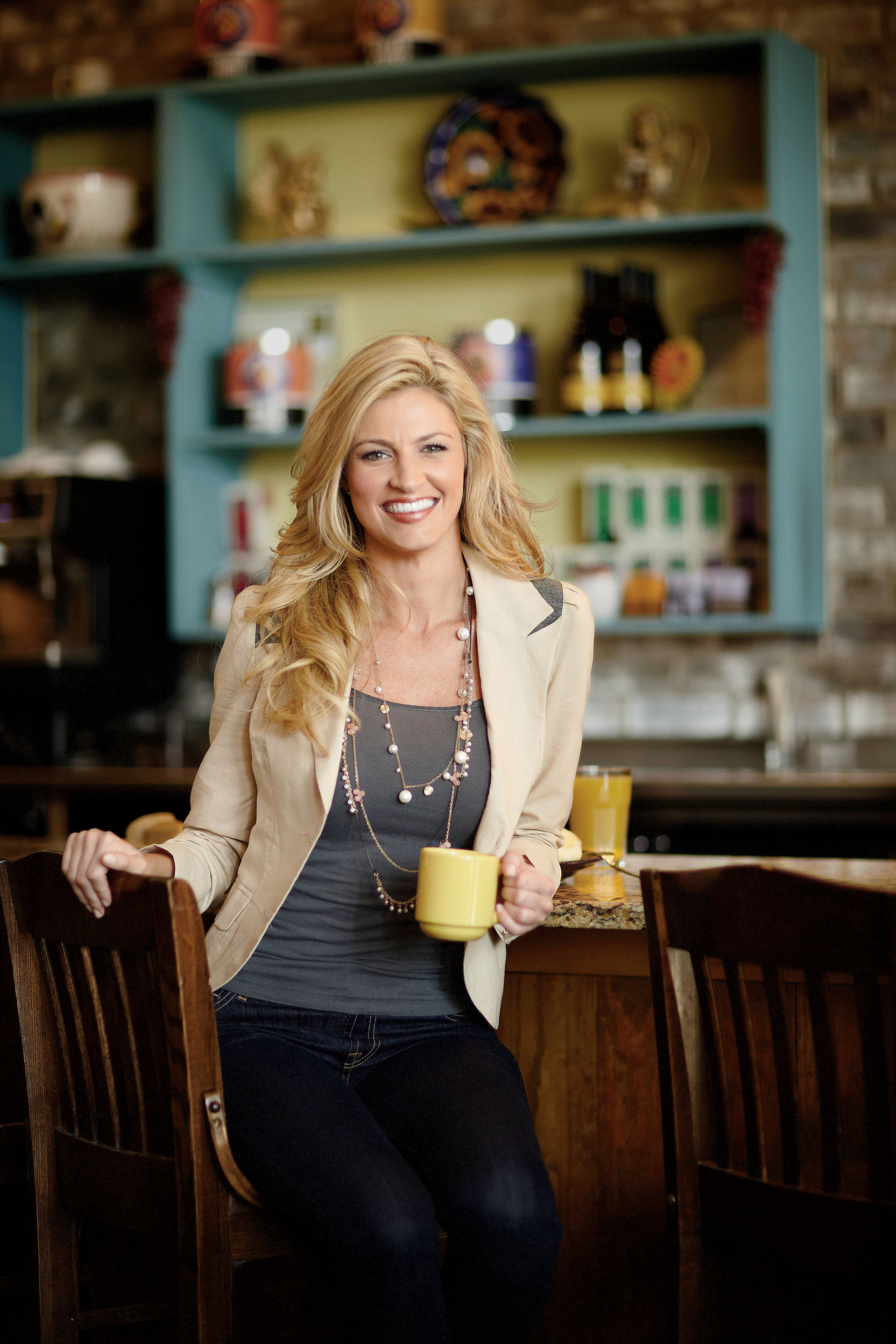 Paper Napkin Interview: Dishing with Erin Andrews