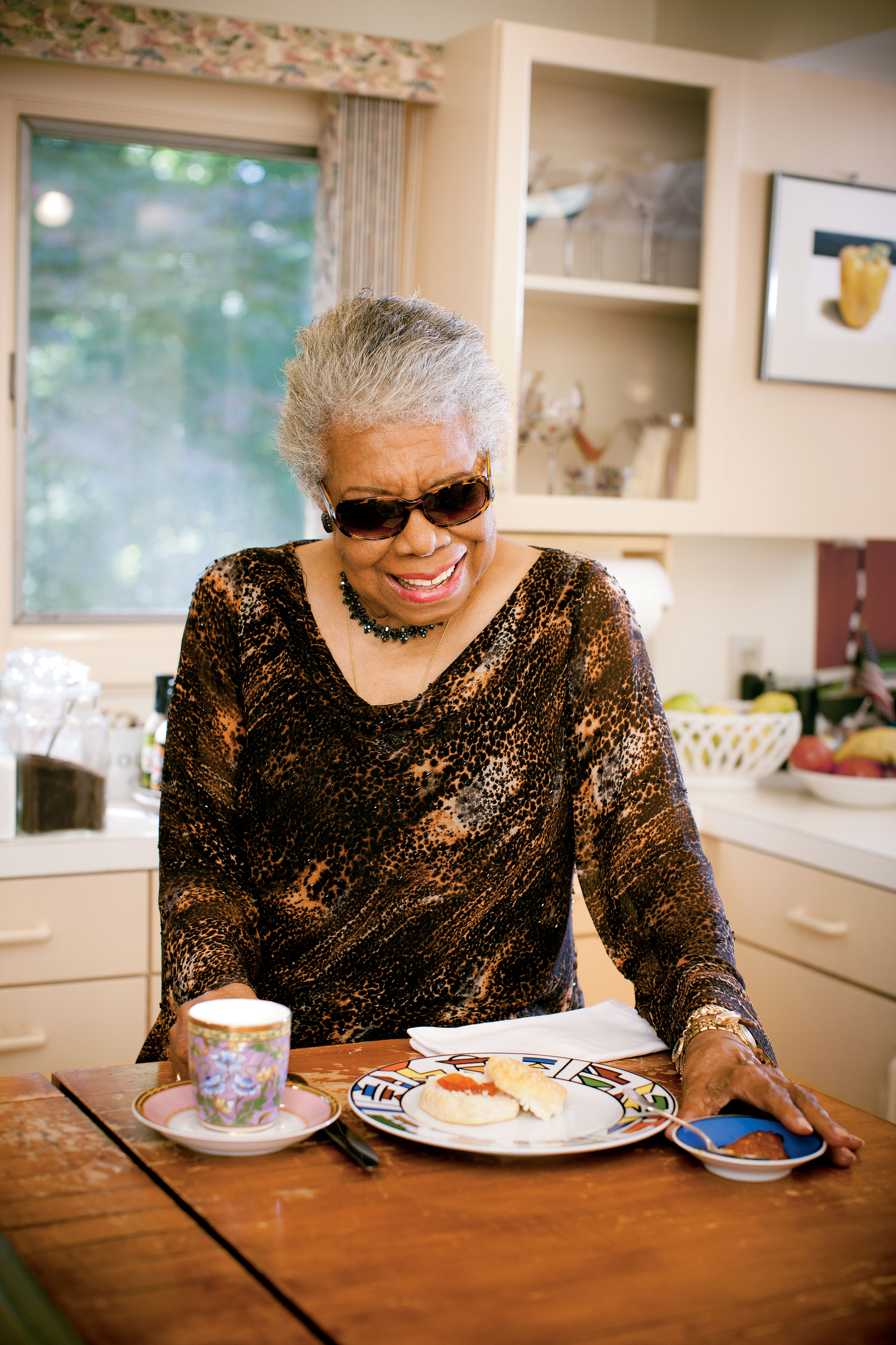 Paper Napkin Interview: Dishing with Maya Angelou