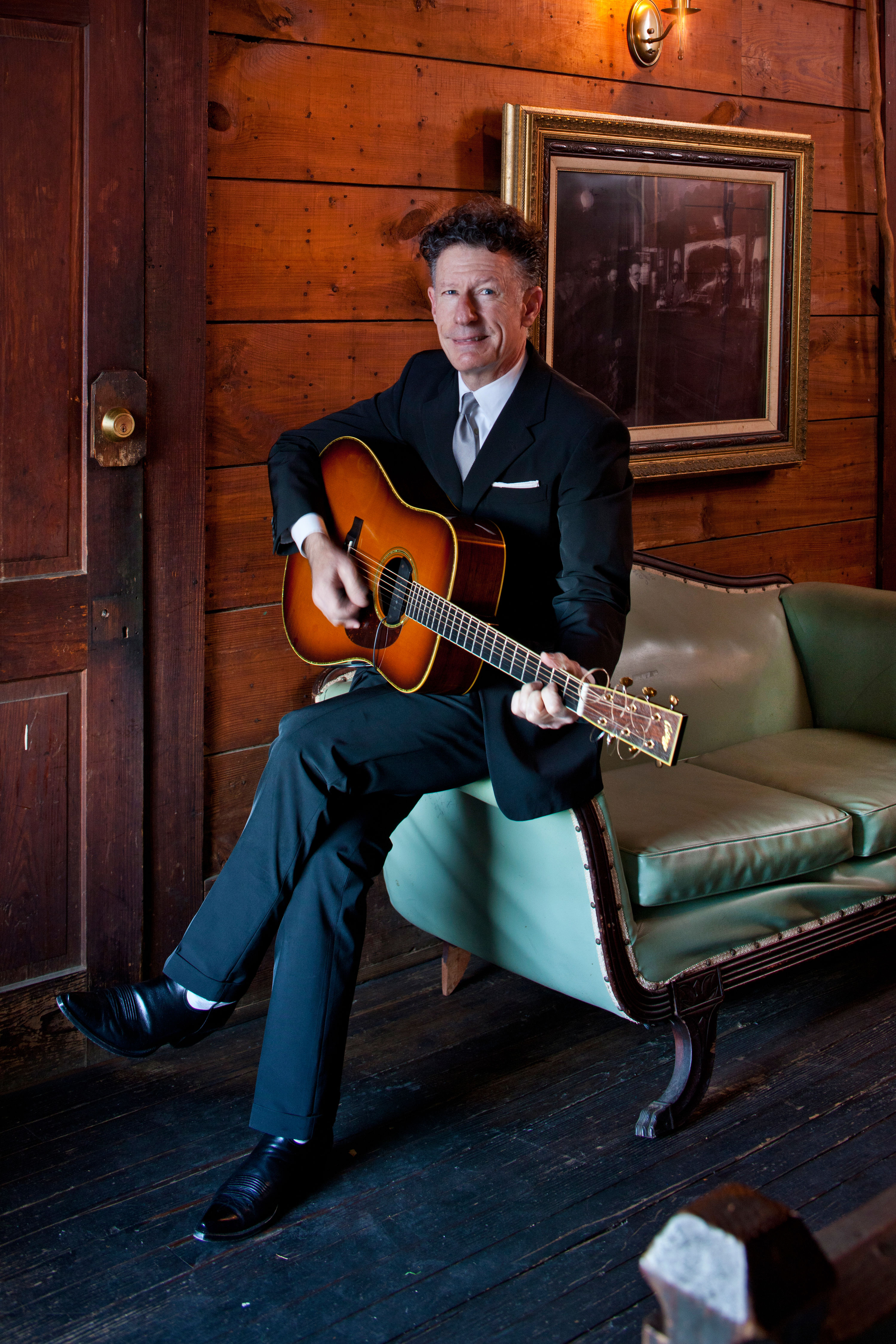 Paper Napkin Interview: Dishing with Lyle Lovett