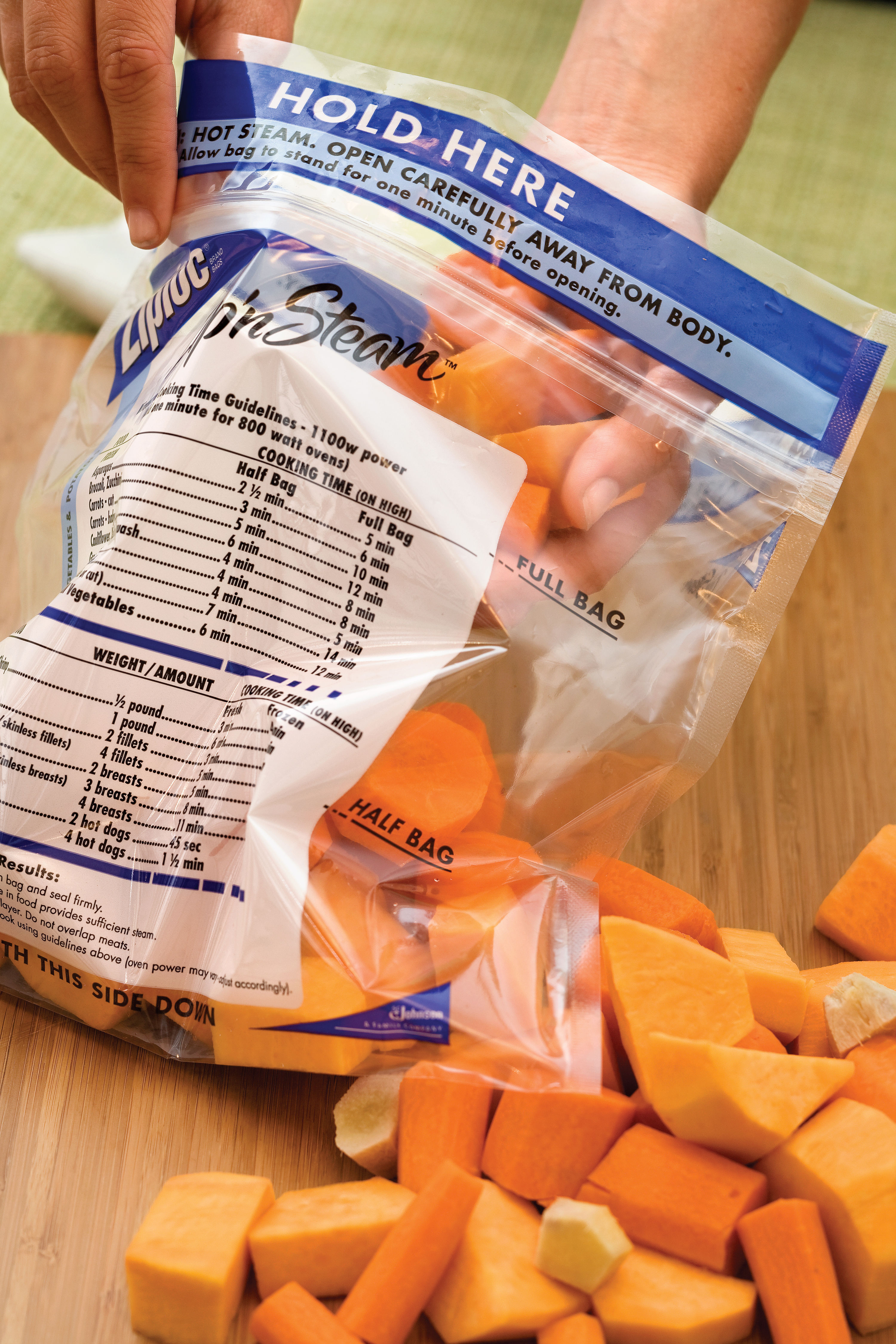 Save Time With Frozen Vegetables