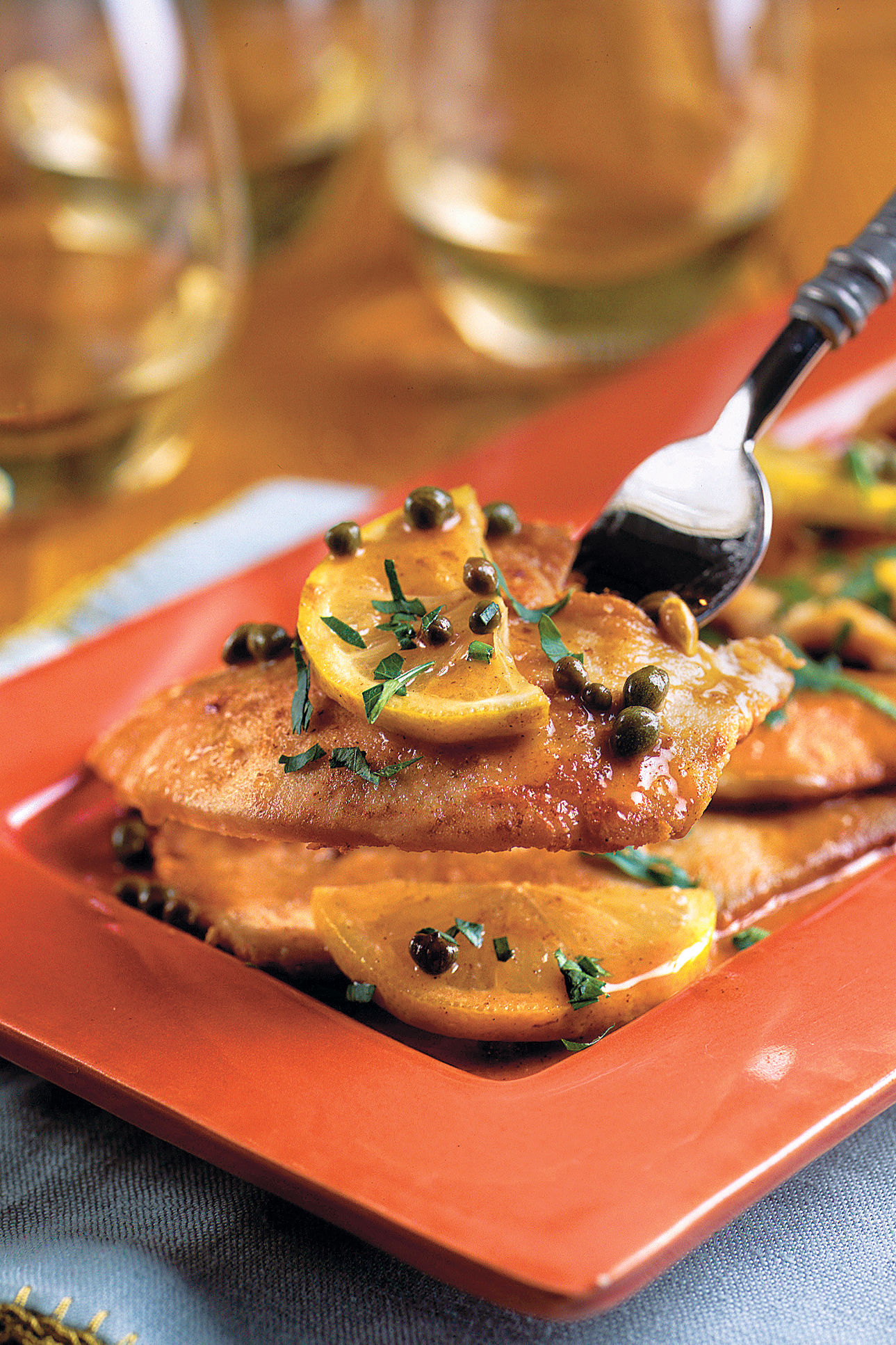 Quick-Fix Turkey Piccata