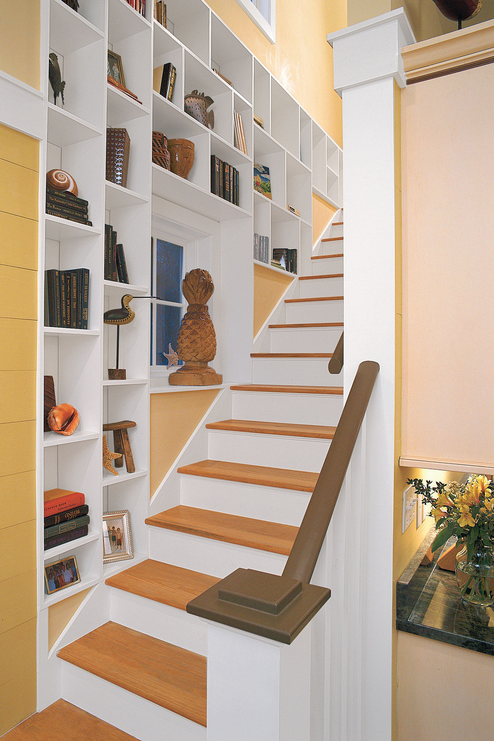 Clever Storage by the Stairs