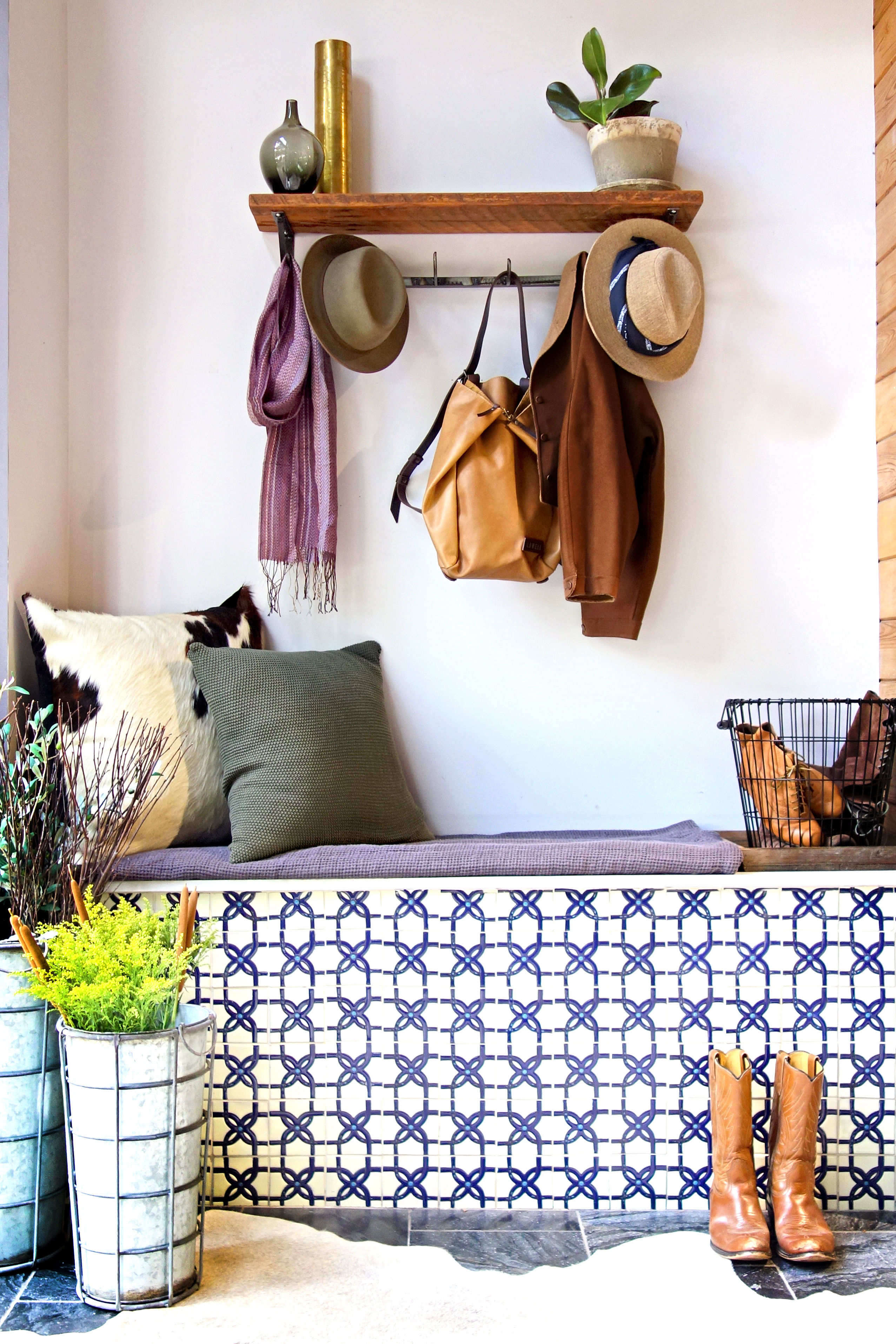 Create A Welcoming Fall Entry with HACIENDA